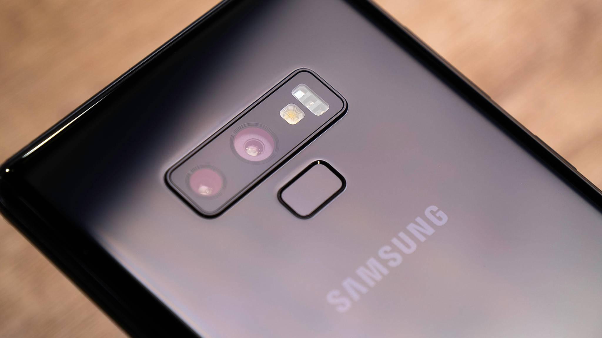 Das Samsung Galaxy Note 9 bekommt nun Android 10.