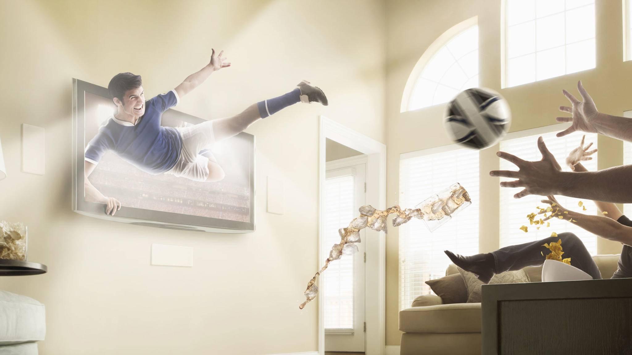Eine Technik, die sich in deutschen Wohnzimmern nicht durchgesetzt hat: Der 3D-Fernseher.