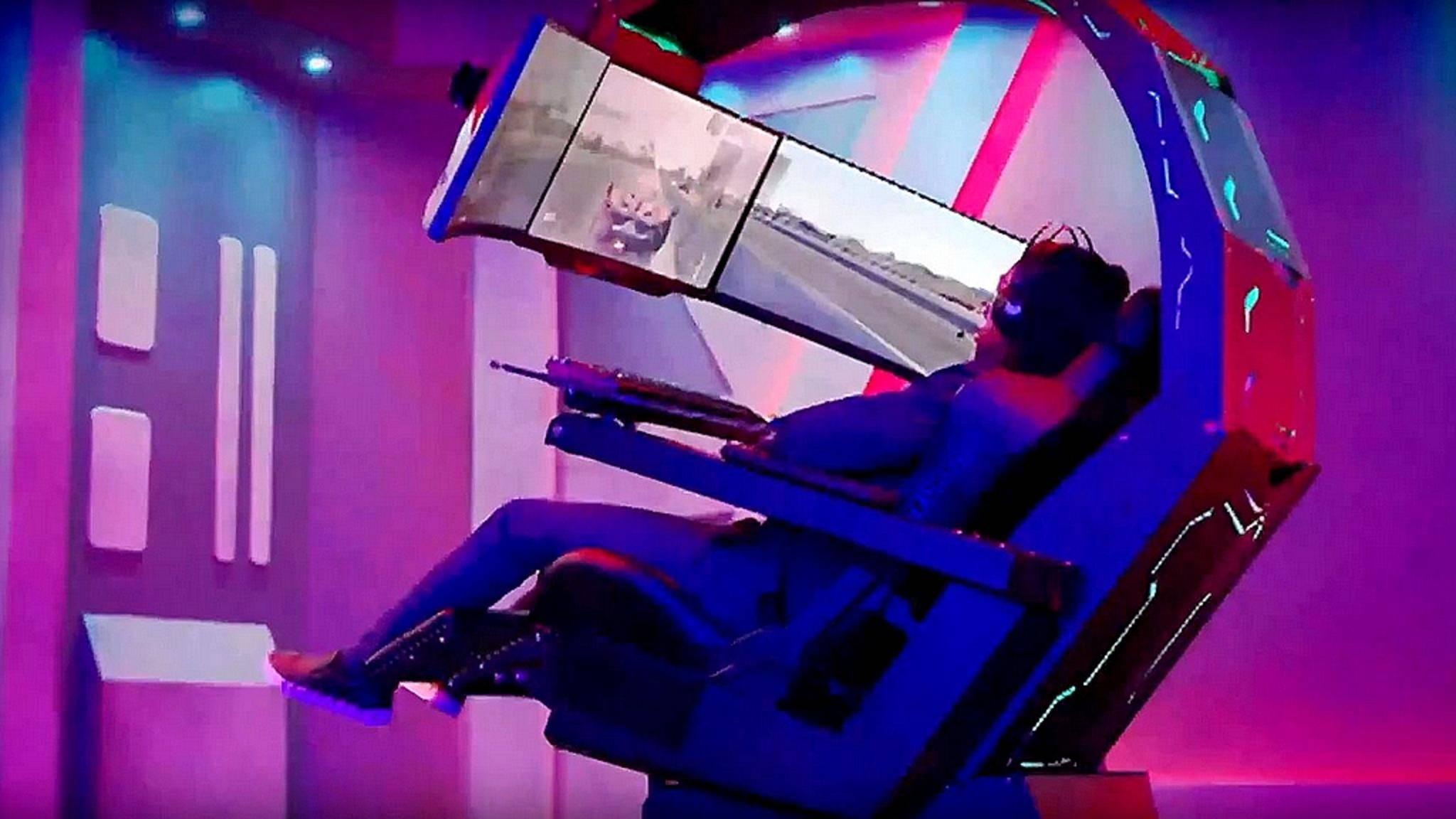 Acer zeigt auf der IFA einen völlig absurden Gaming-Stuhl.