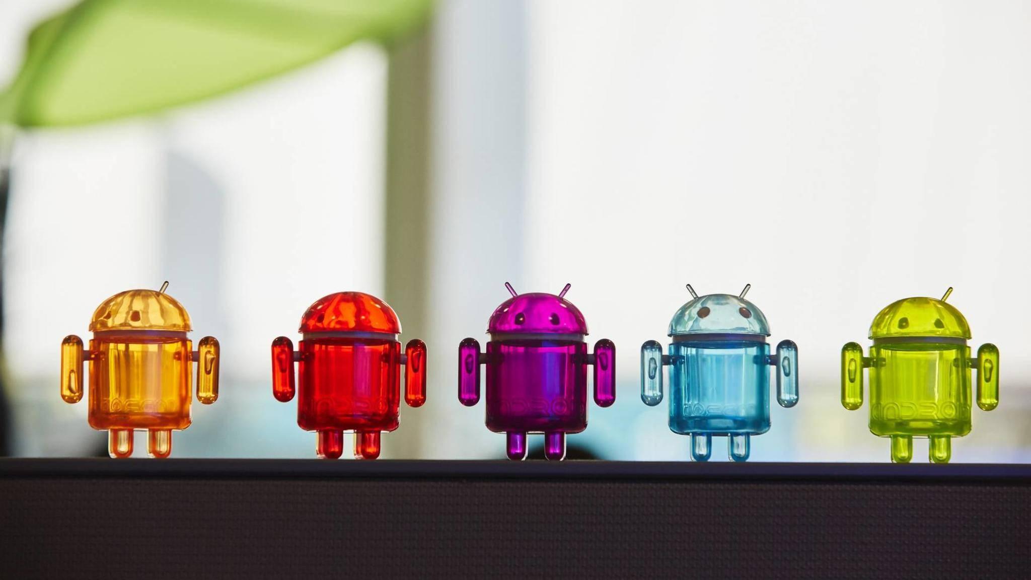 Auch die Google-Apps sollen den neuen Dark Mode unterstützen.