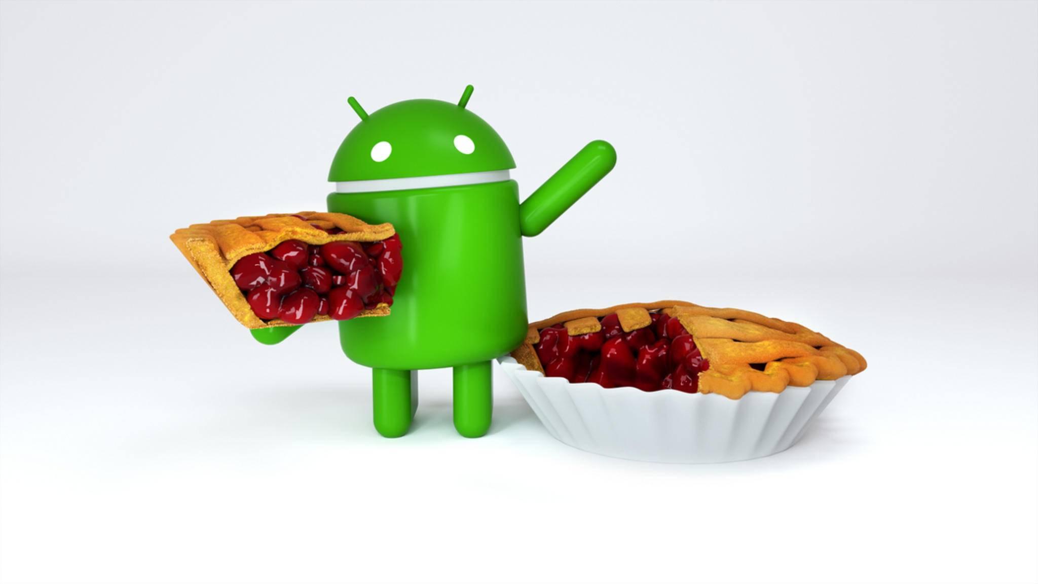 Der Android-Pie-Kuchen wird den Anbietern von Anruf-Aufzeichnungs-Apps nicht schmecken.