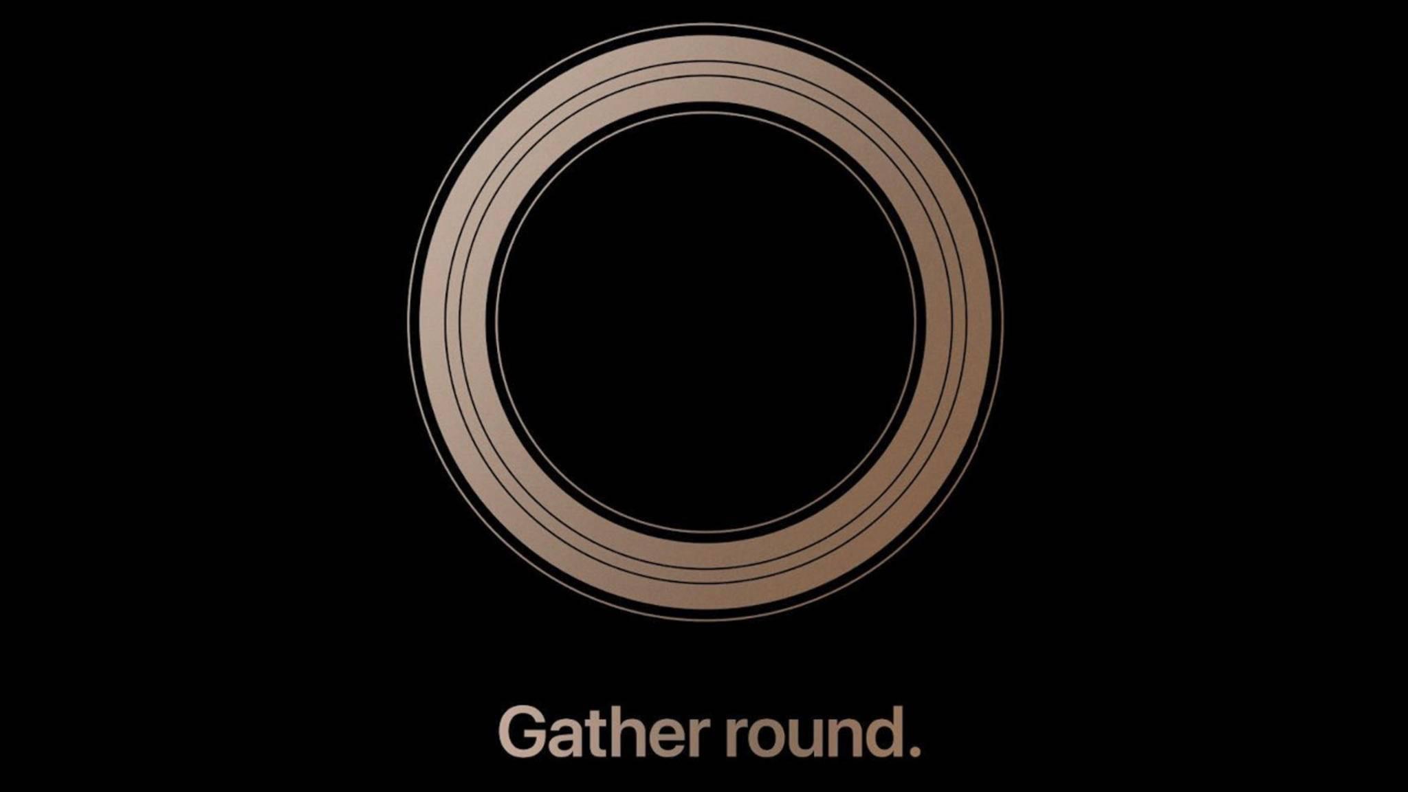 Apple verschickte in dieser Woche die Einladungen an Medienvertreter.