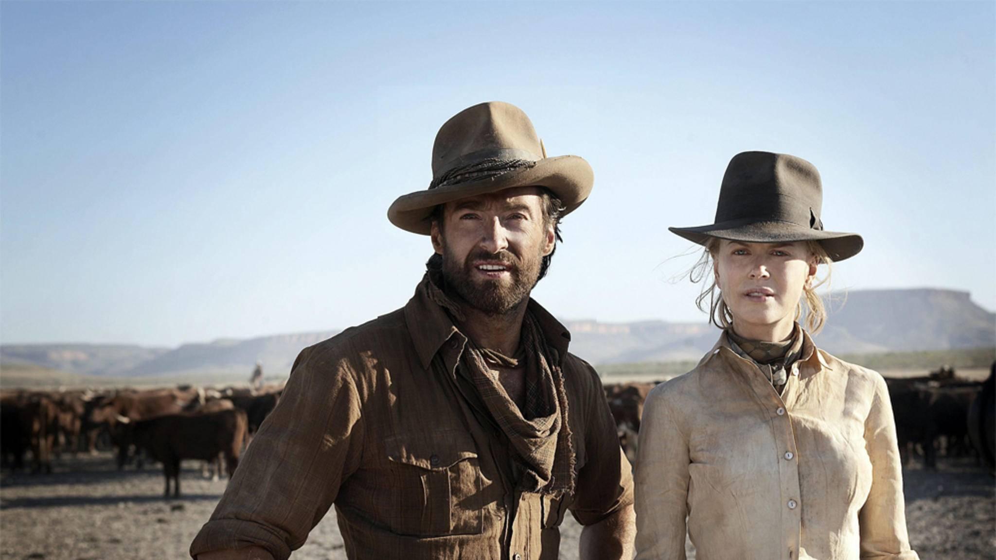 """Hugh Jackman und Nicole Kidman setzen ihrer Heimat in """"Australia"""" ein Denkmal."""