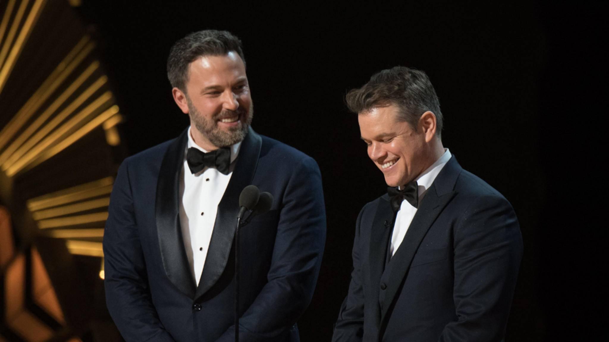 """""""Good Will Hunting"""" brachte Ben Affleck und Matt Damon einen Oscar ein. Können sie ihren Erfolg bald wiederholen?"""