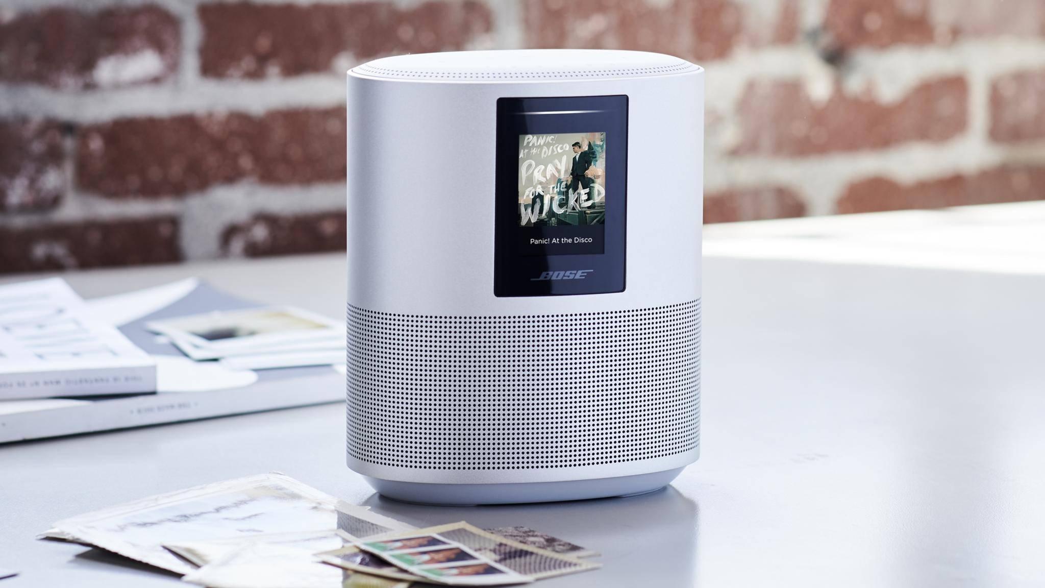Der Bose Home Speaker setzt auch Sprachassistenten und Audio-Expertise.