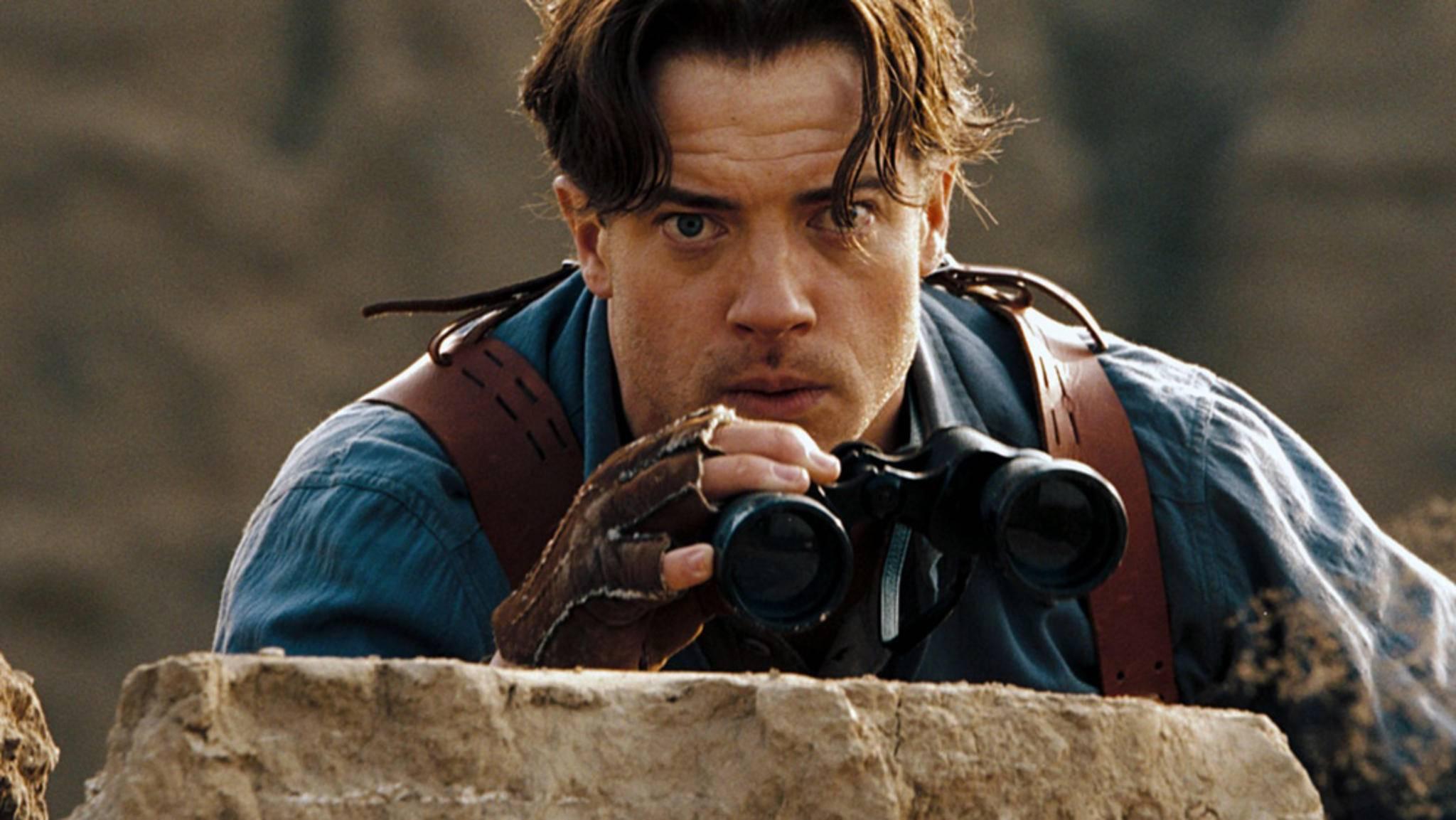 """""""Die Mumie""""-Star Brendan Fraser hat eine neue Helden-Rolle in Aussicht. Für DC wird er zu Robotman!"""