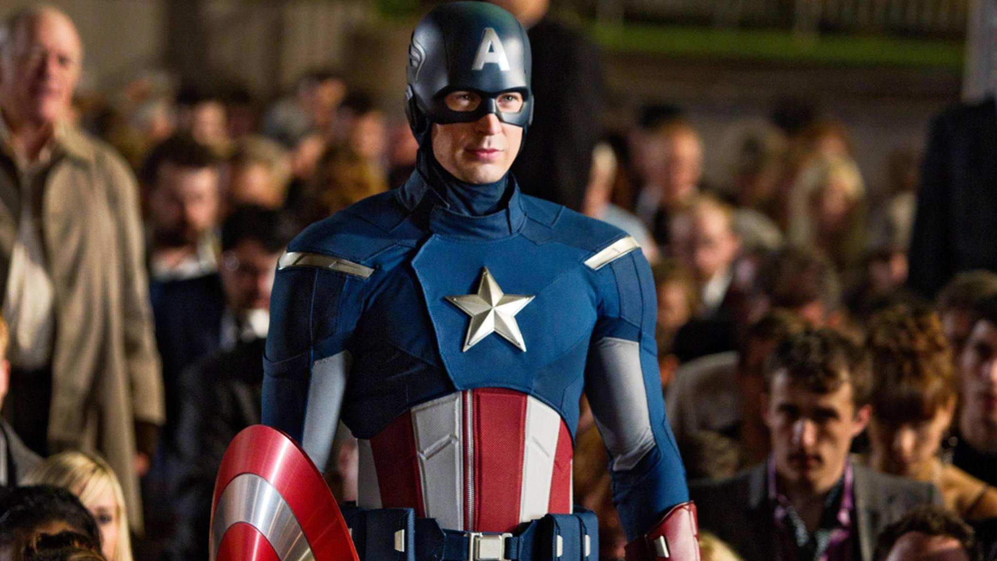 Seit 2011 erobert Chris Evans bewaffnet mit Captain Americas Schild die Leinwand.