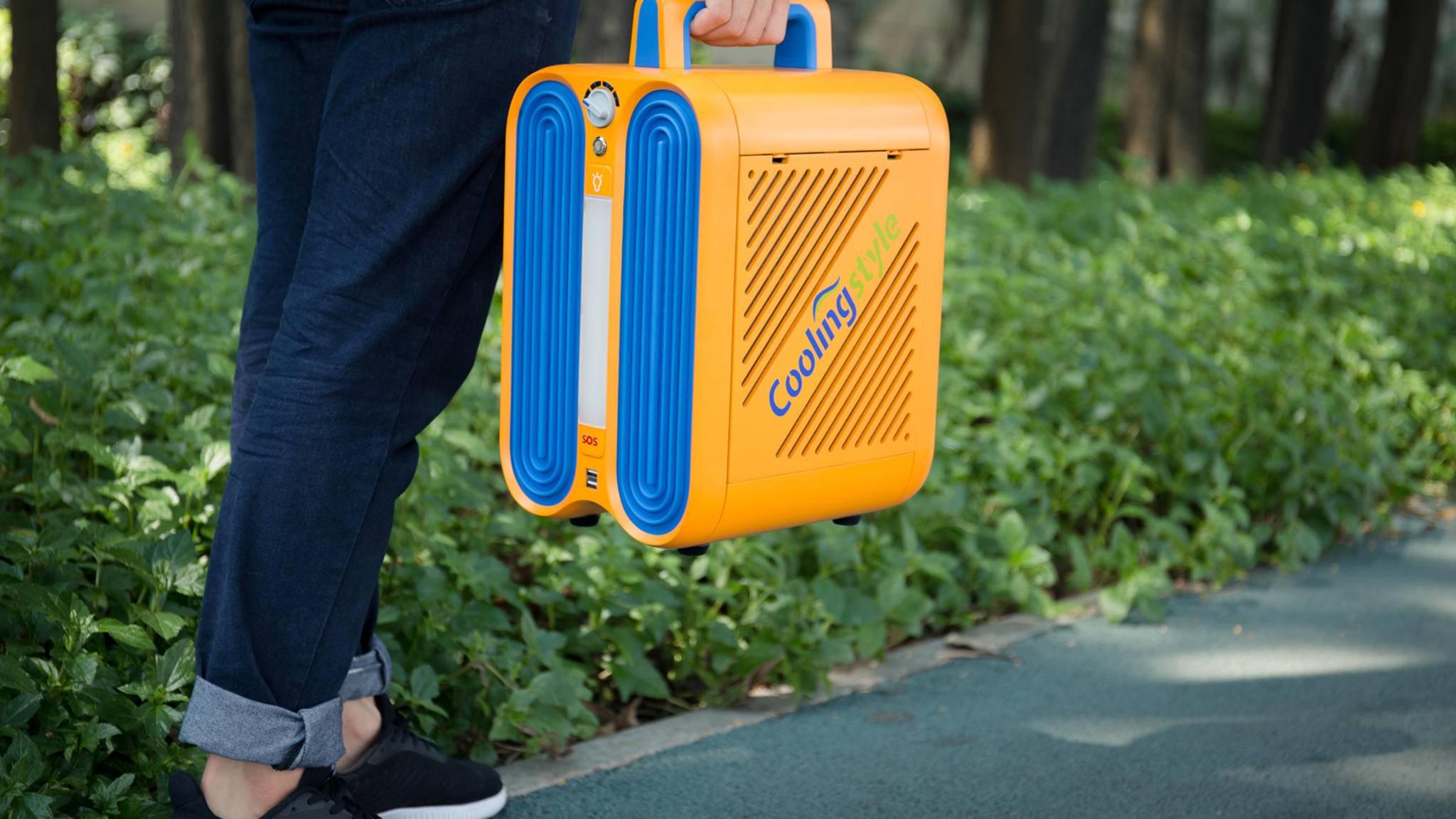 Handlich und kompakt soll Dich die Coolingstyle überall hin begleiten.