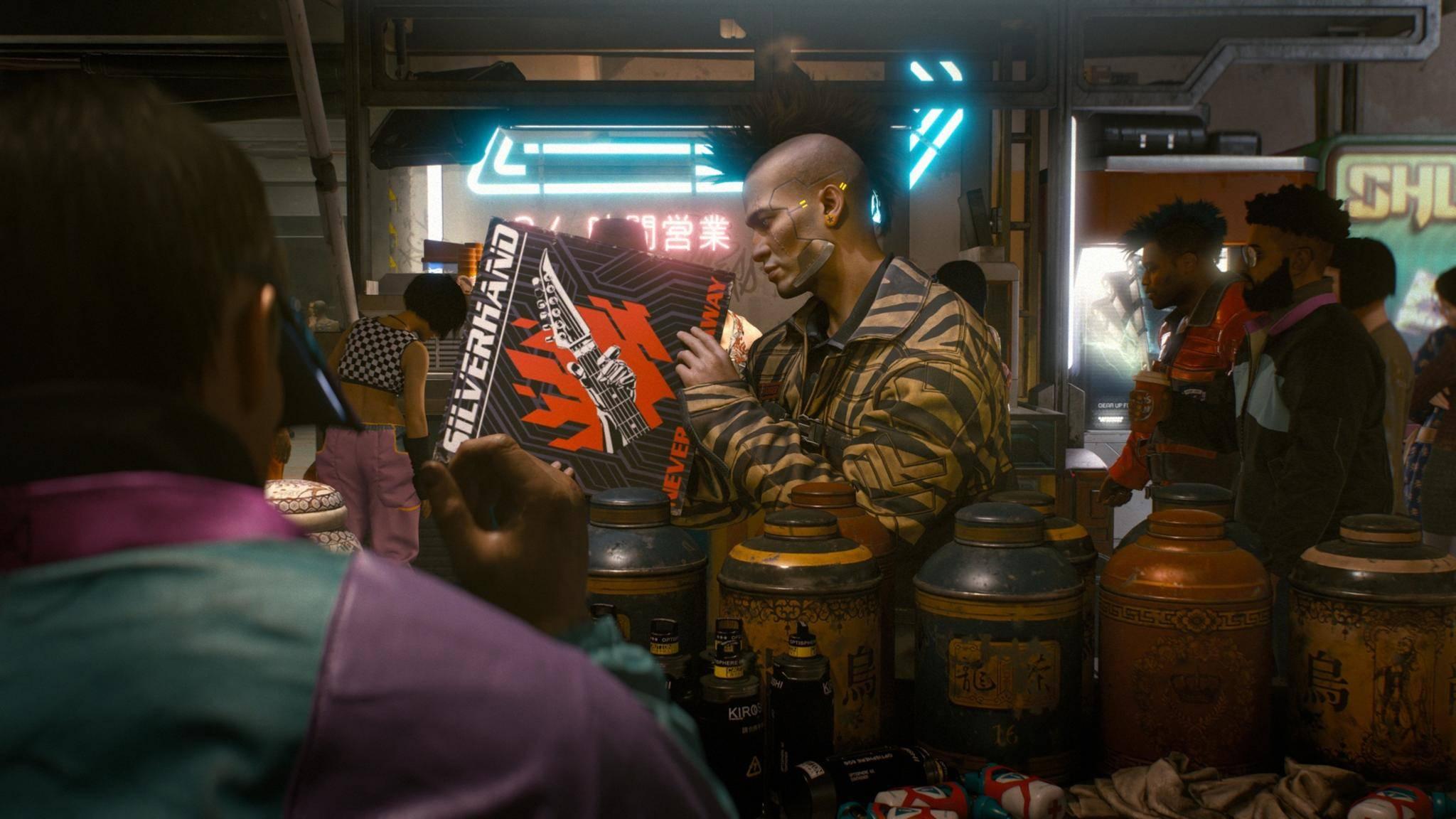"""""""Cyberpunk 2077"""" kommt ein paar Monate später."""