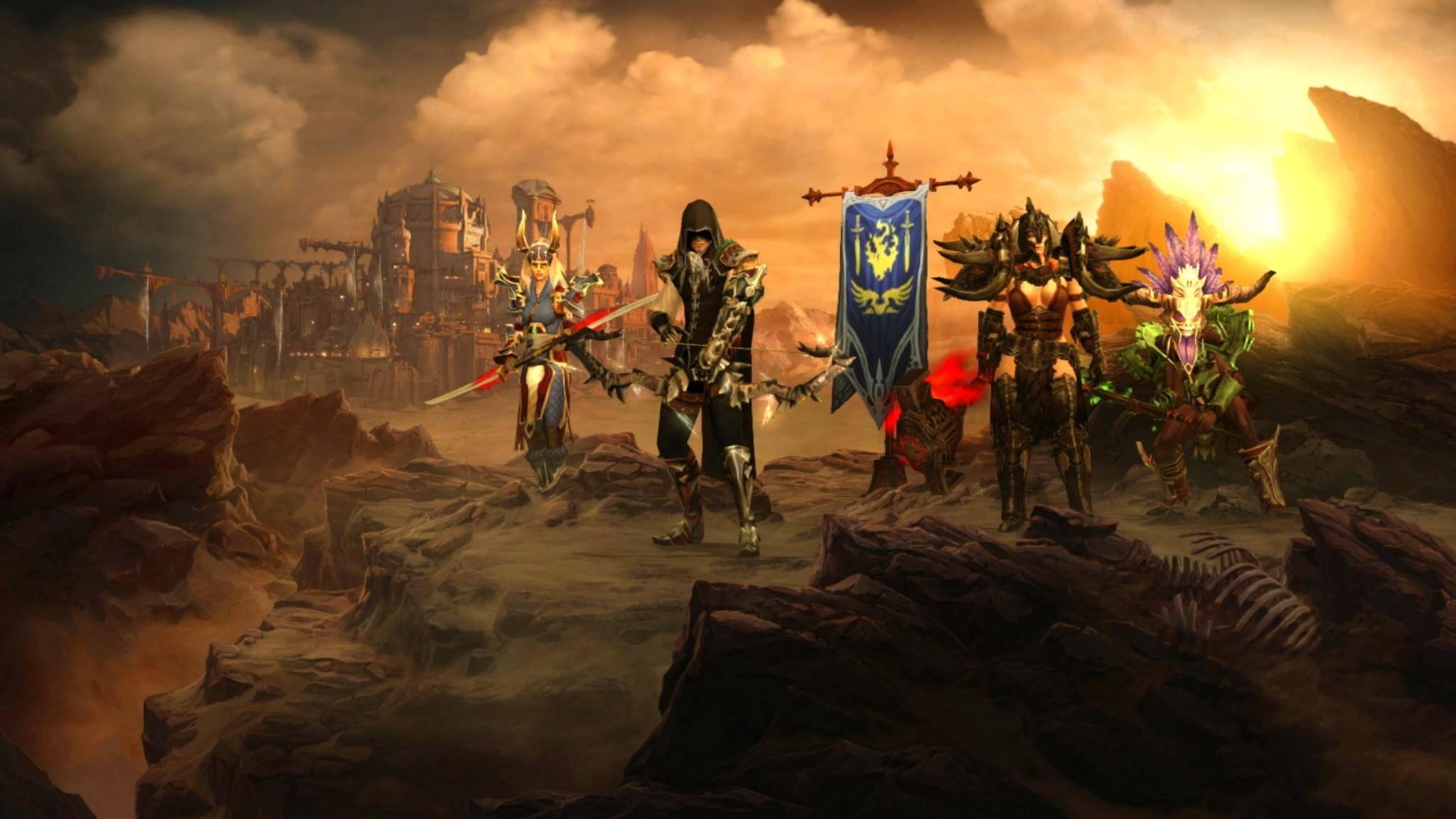 """""""Diablo 3"""" auf Nintendo Switch: So spielst Du den Hack'n'Slay-Hit mit Freunden."""