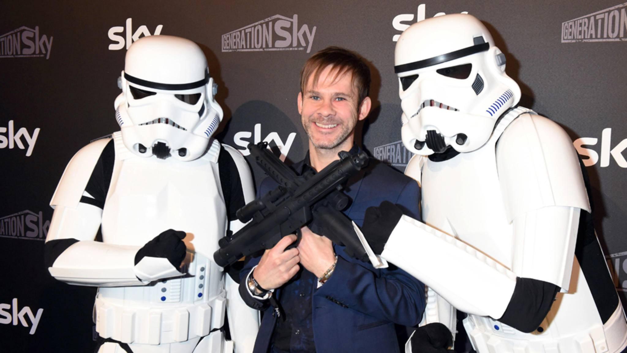 """Der Herr der Ringe""-Star Dominic Monaghan ist selbst großer ""Star Wars""-Fan."