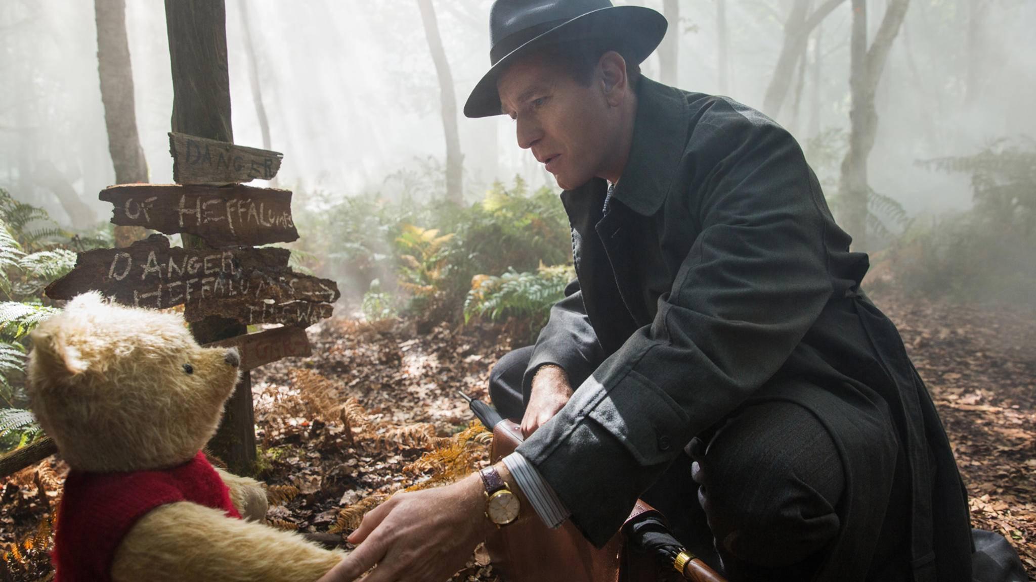Zusammen mit Ewan McGregor als Christopher Robin erinnert sich der Kinogänger wieder daran, wie es ist, ein Kind zu sein.