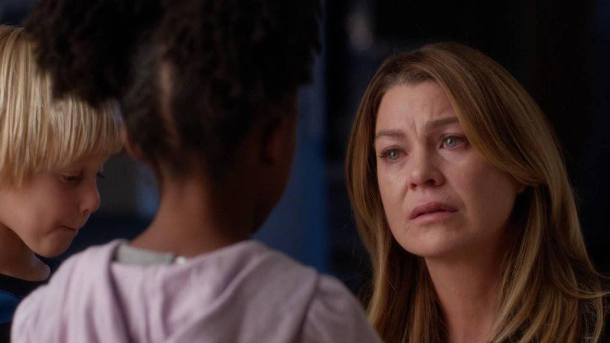 """Diverse Abschiede in """"Grey's Anatomy"""" zu Tränen gerührt."""