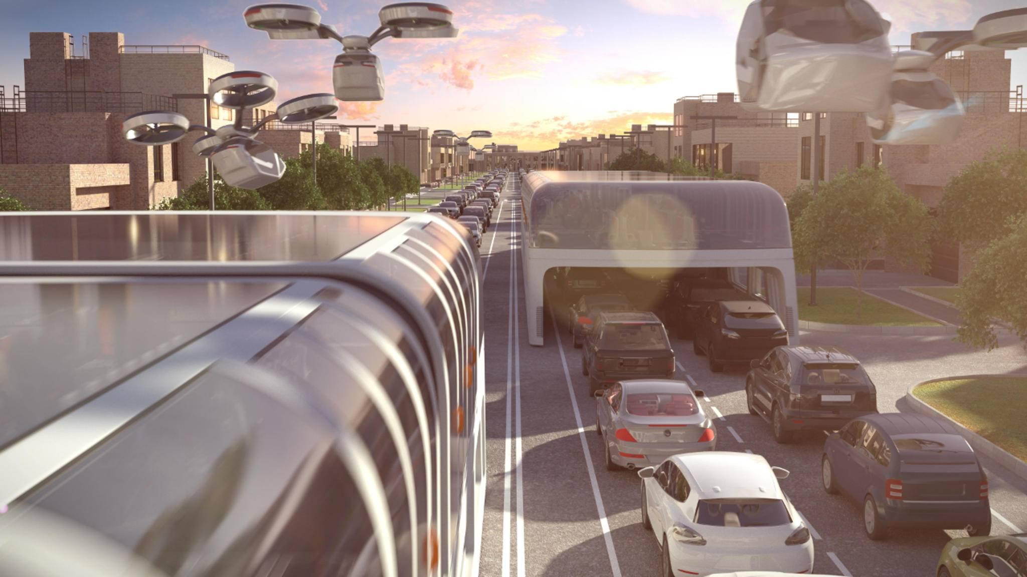 Fliegende Autos müssen kein Traum bleiben – diverse Unternehmen arbeiten bereits an Prototypen.