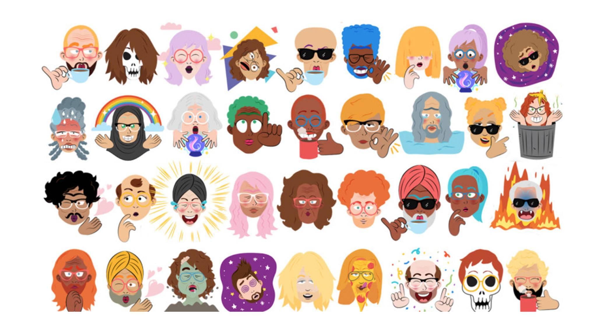 Mit Googles Gboard kannst Du jetzt Sticker auf Basis eines Selfies erstellen.