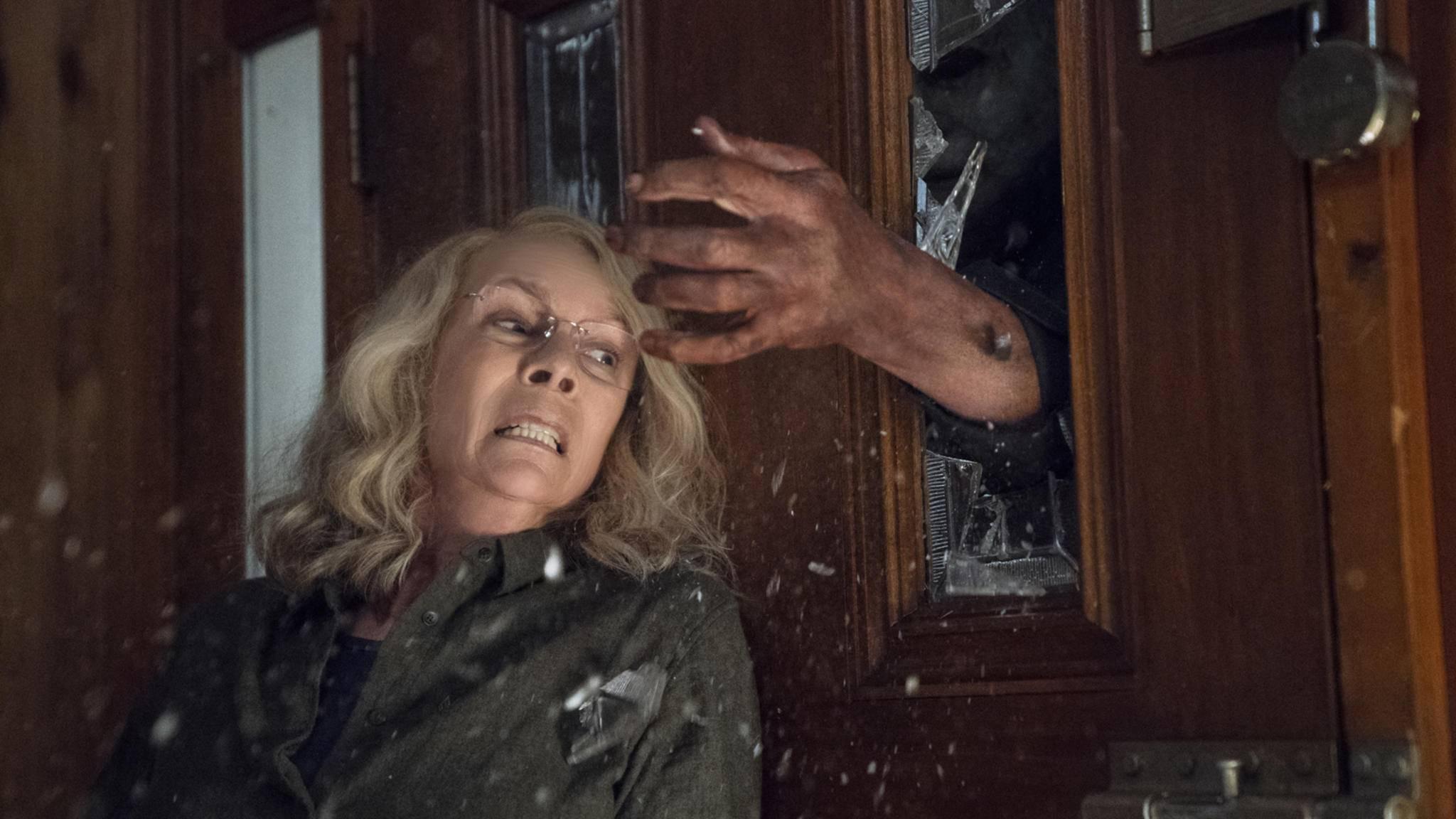 """40 Jahre nach dem """"Halloween""""-Original nimmt es Jamie Lee Curtis als Laurie Strode wieder mit ihrem Peiniger auf."""