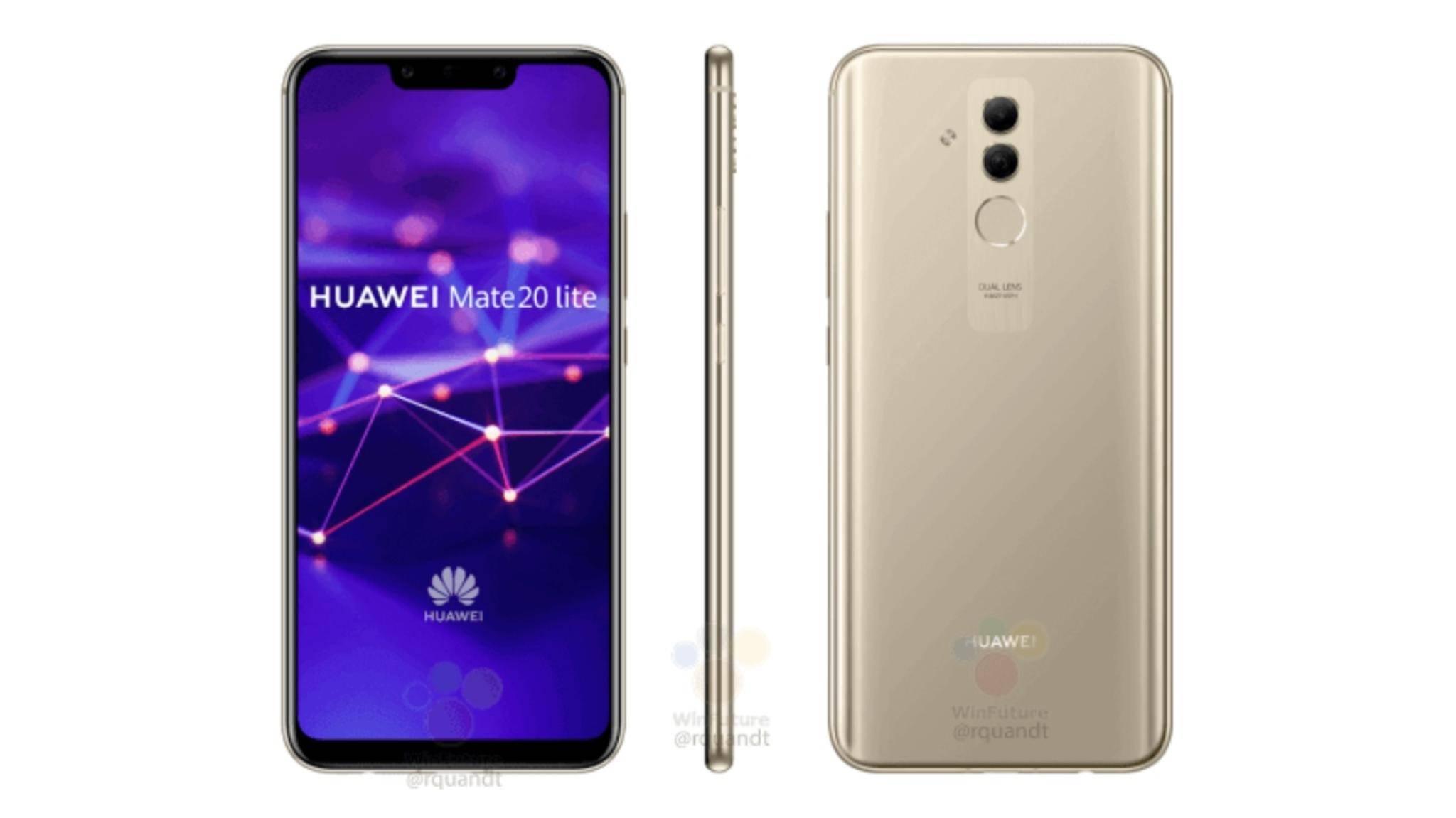 Das Huawei P20 Lite ähnelt technisch dem Huawei P Smart Plus.