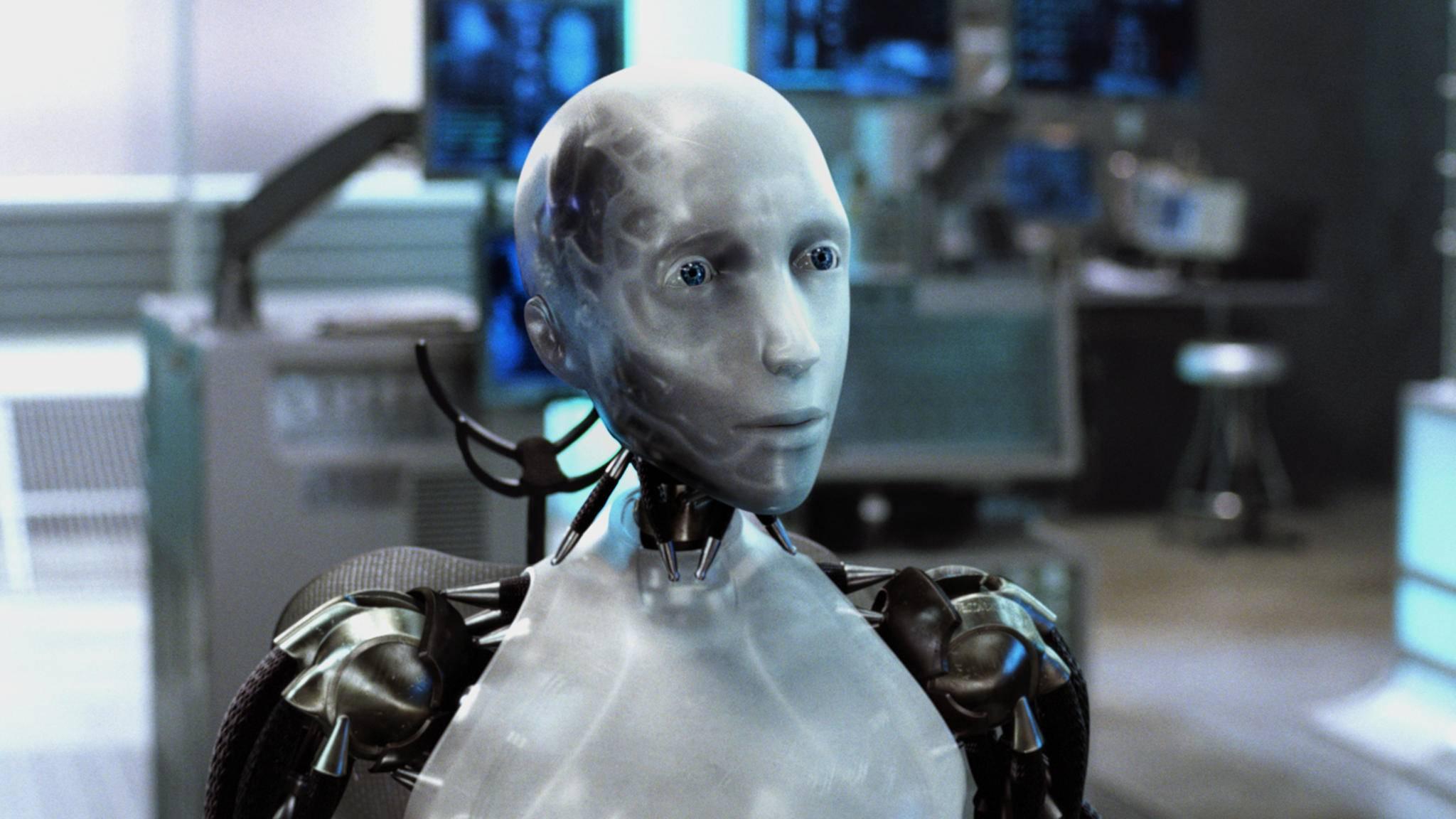 """Ob der echte Schauspiel-Roboter wohl so ähnlich aussieht wie Sonny in """"I, Robot""""?"""