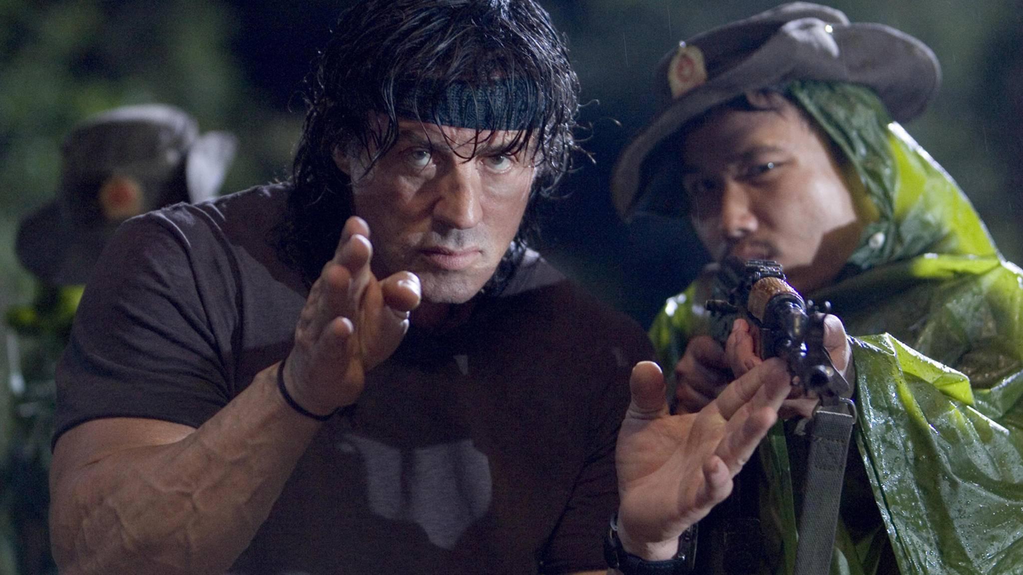 Vom Dschungel auf die Ranch: Rambo wird zum Cowboy.