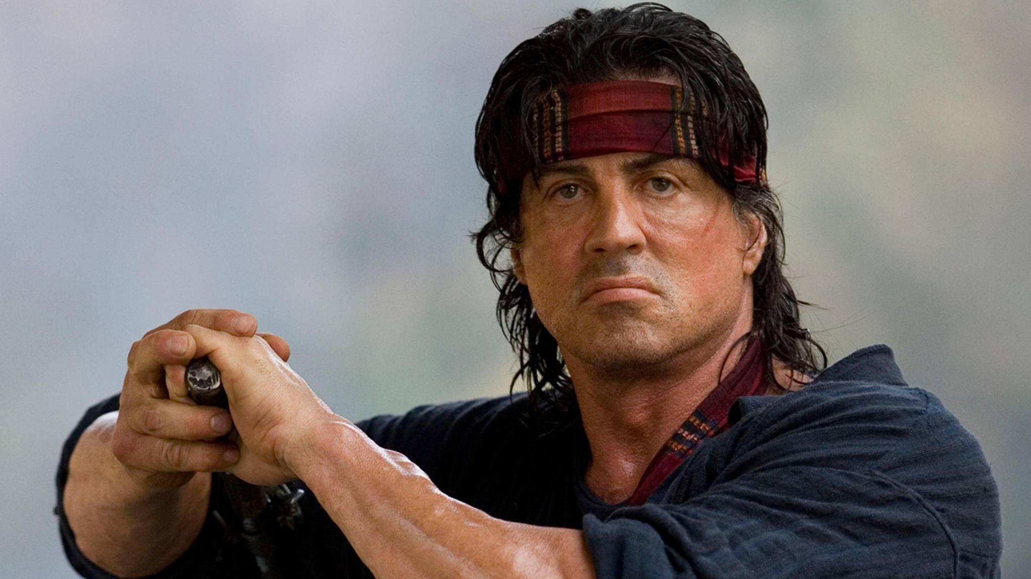 """Sylvester Stallone hat den Kinostart von """"Rambo 5"""" fest im Blick."""