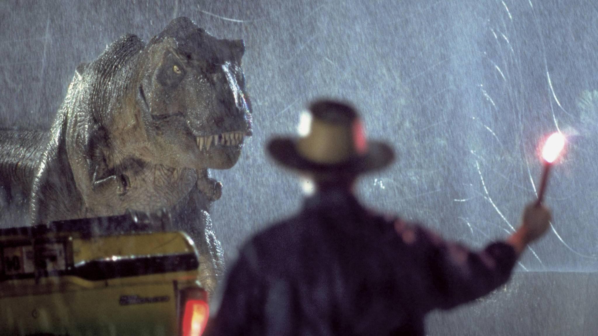 Grrrrr! Besonders für Männer auf Dixie-Klos hat der T-Rex eine Vorliebe.