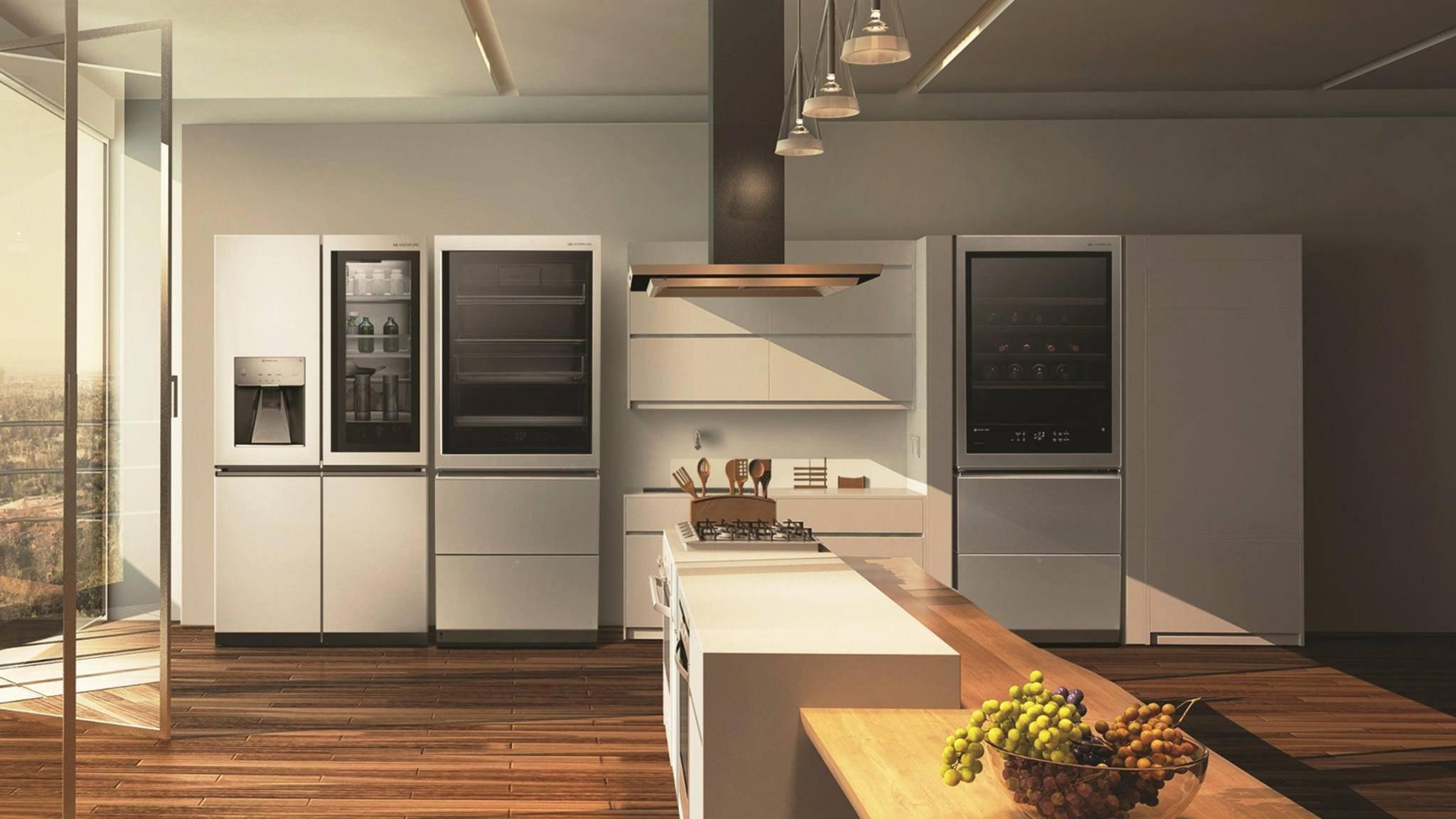 Der LG Signature Weinkühlschrank ist nur eines der neuen Geräte, die LG auf der IFA 2018 vorgestellt hat.