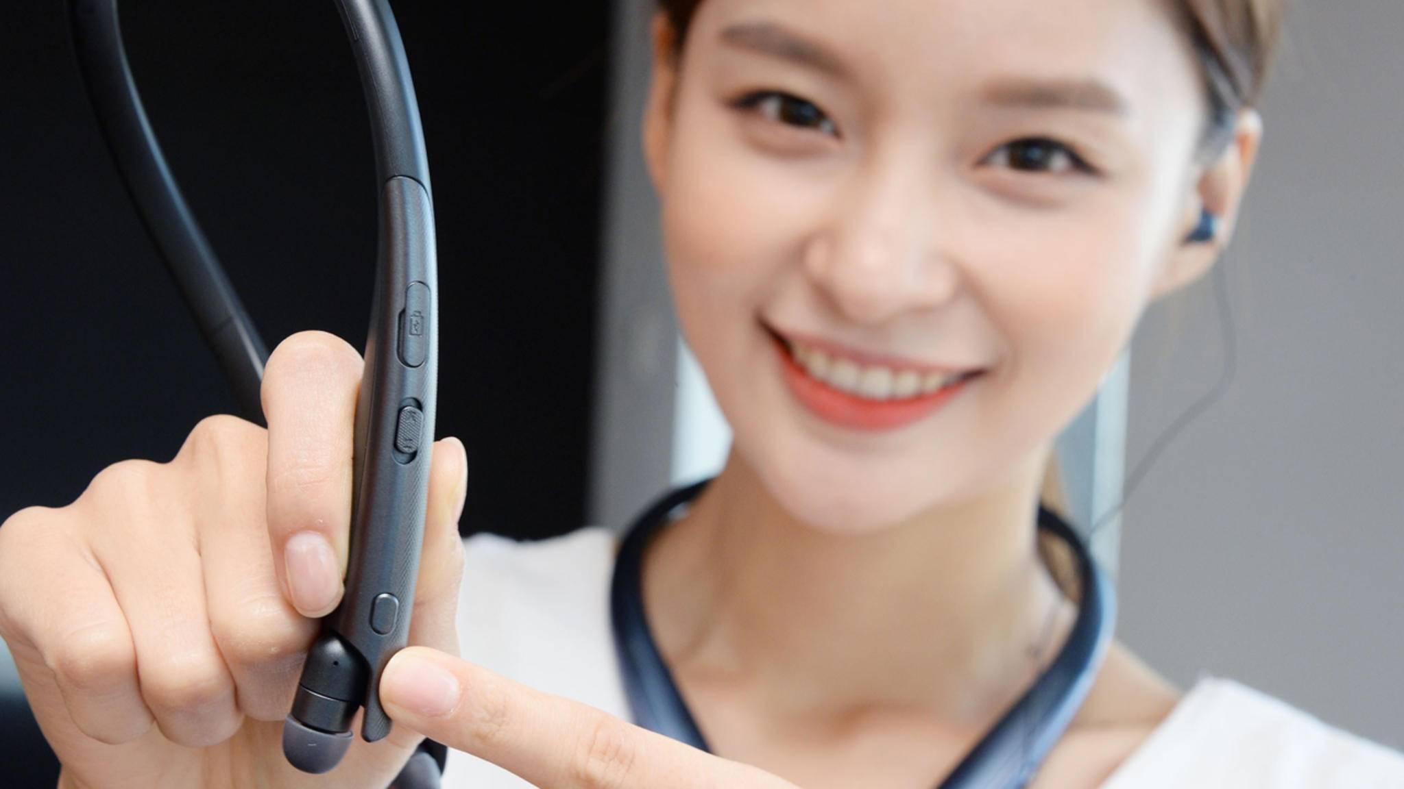 Auf der IFA 2018 wird LG neue Tone-SE-Modelle mit Button für den Google Assistant vorstellen.