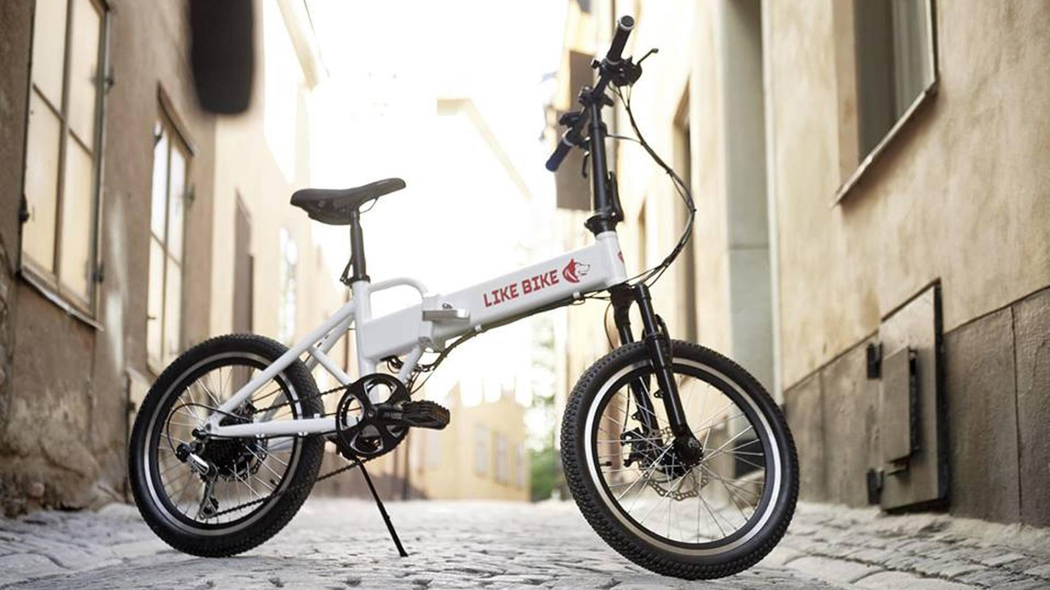 Ein faltbares E-Bike? Her damit!