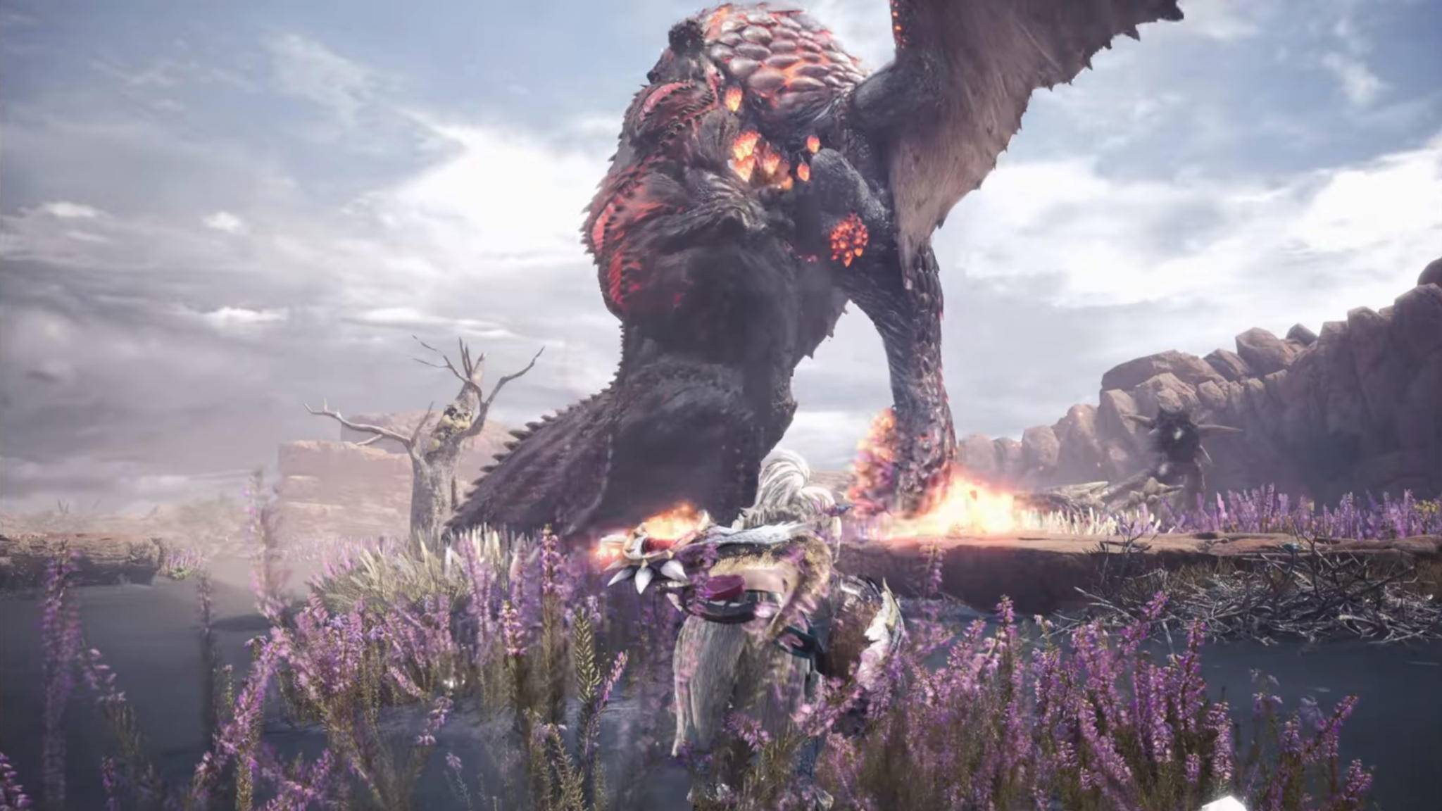 Den Community-Liebling Deviljho wirst Du leider erst einige Zeit nach dem Release im Spiel antreffen.