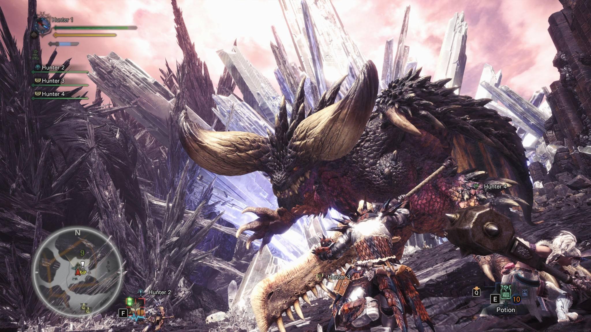 """Modder stoßen bei """"Monster Hunter World"""" auf ungewohnt heftige Gegenwehr."""