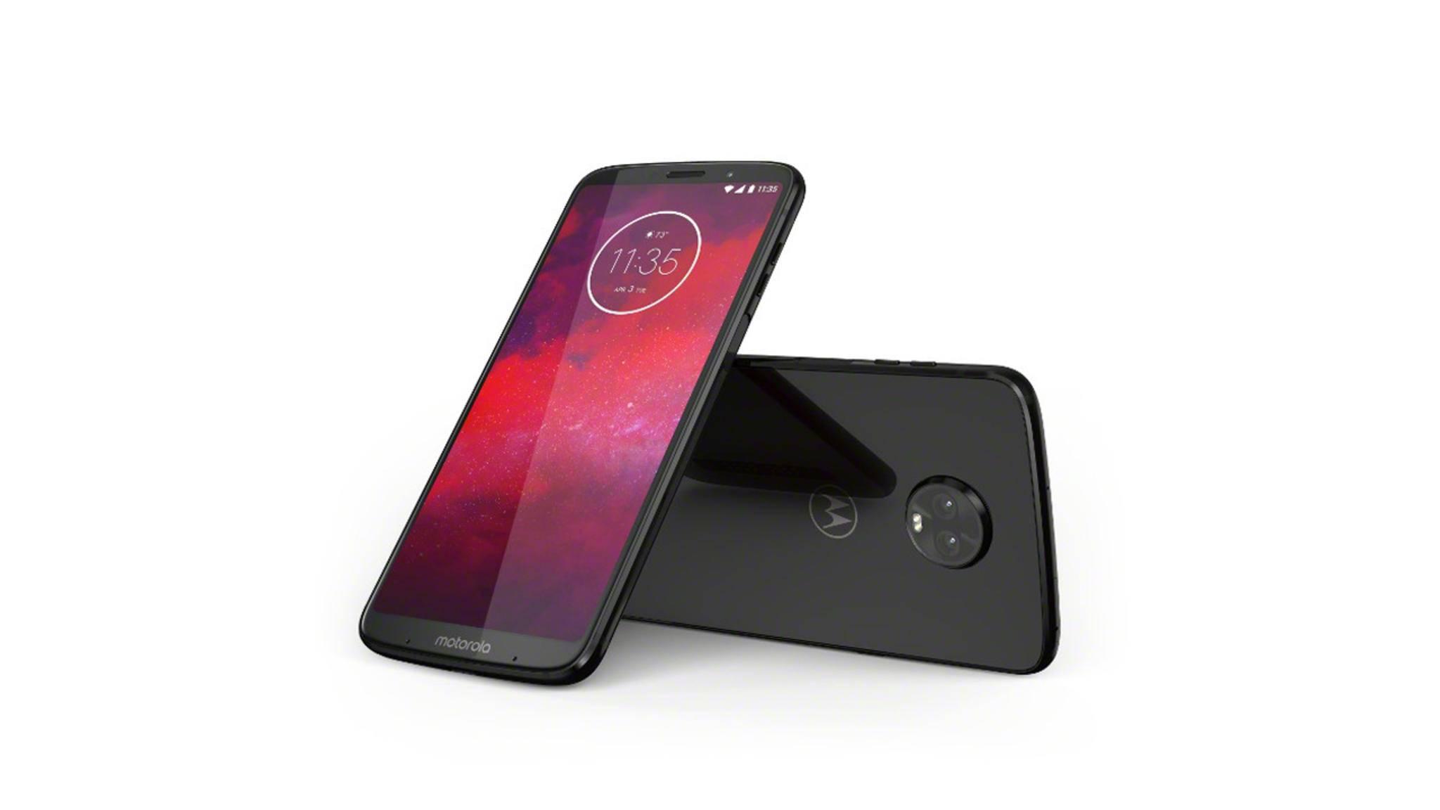 Motorola bietet das erste Smartphone, das Kunden mit 5G verbindet.