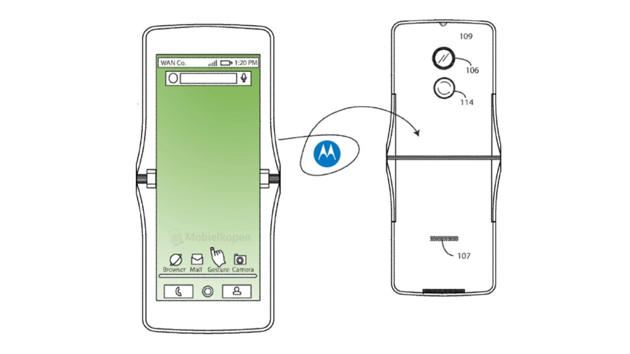 Das Motorola Razr könnte mit einem faltbaren Display zurückkehren.