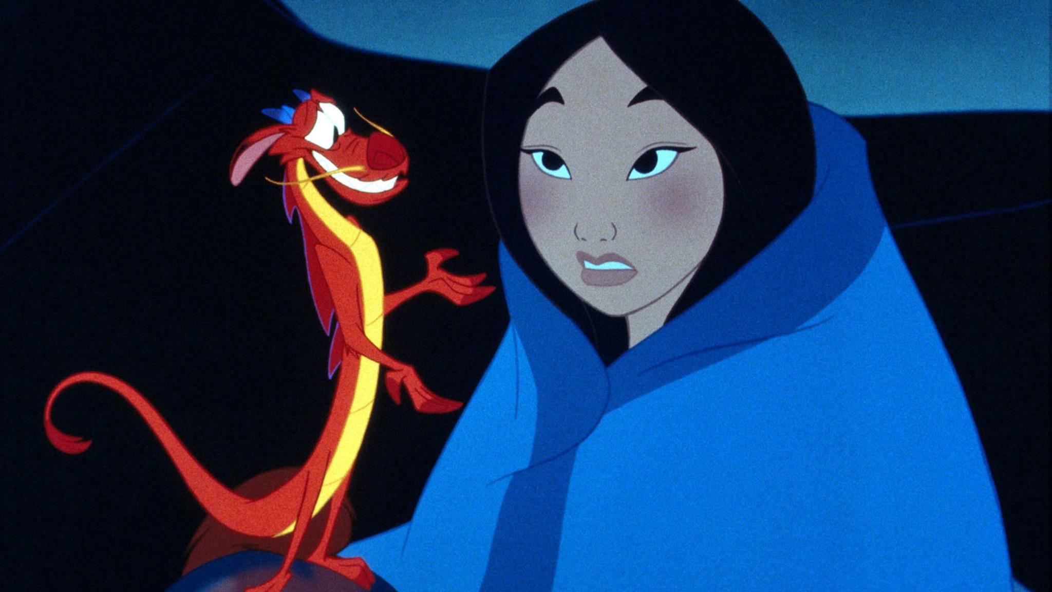 """Kommt die Realverfilmung von """"Mulan"""" etwa ohne den magischen Drachen Mushu?"""