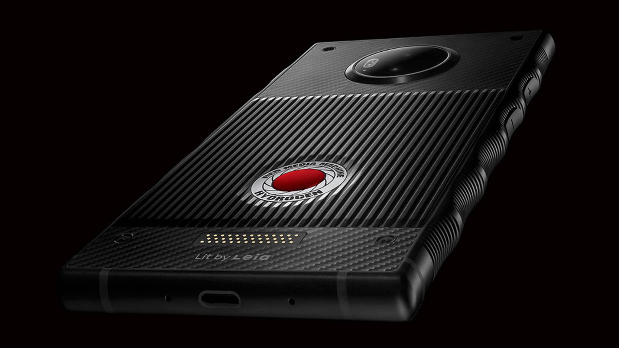Das RED Hydrogen One wird anders als die meisten Smartphones.