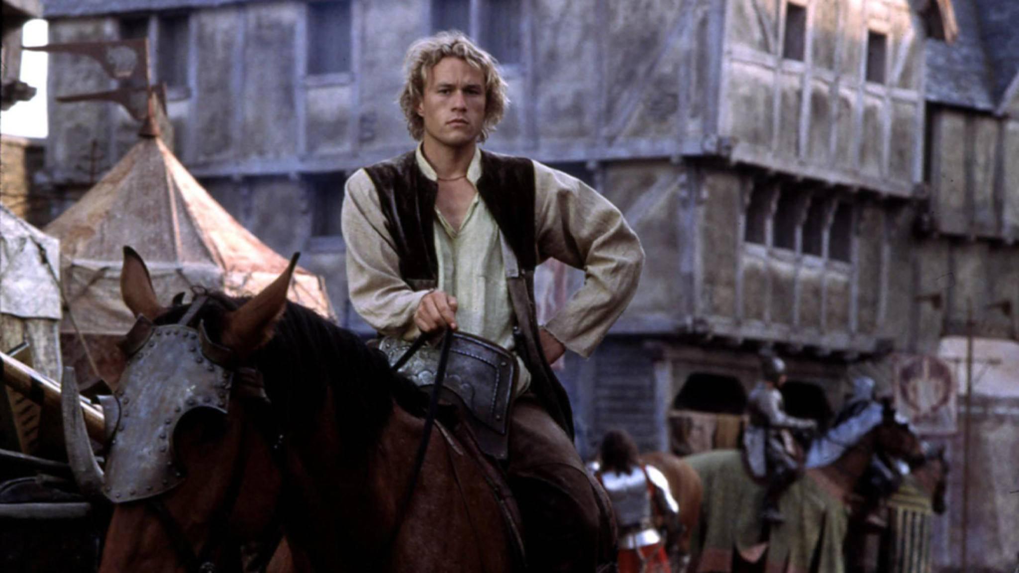 """Mit """"Ritter aus Leidenschaft"""" lieferte Heath Ledger eine modernere Version von Ritter-Filmen ab."""
