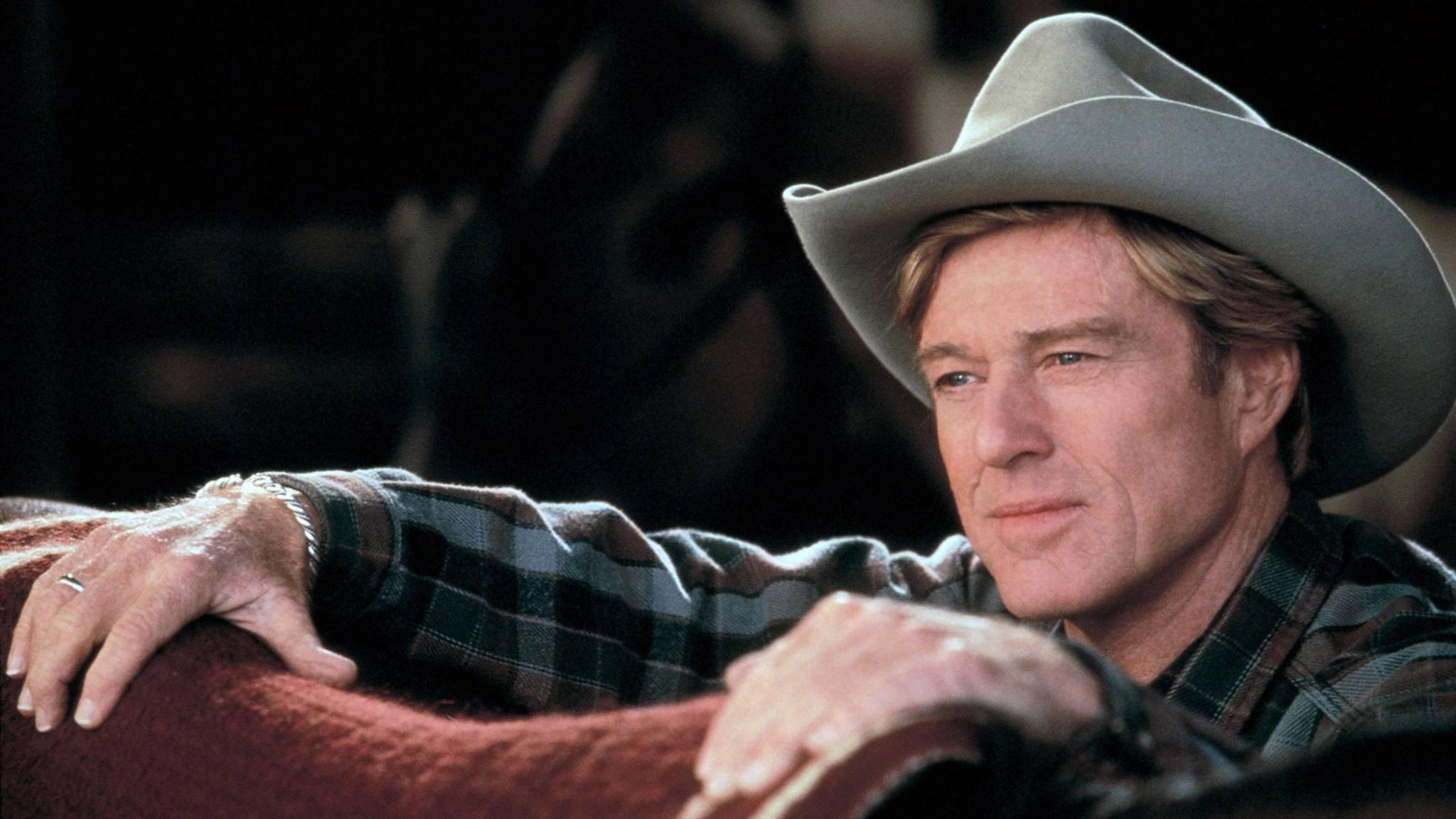 """In """"Der Pferdeflüsterer"""" brachte Robert Redford viele Frauenherzen zum Schmelzen."""