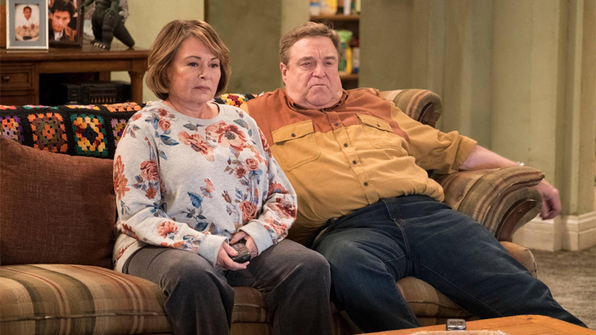 """Roseanne Barr wird endgültig aus der """"Roseanne""""-Serienwelt herausgeschrieben."""