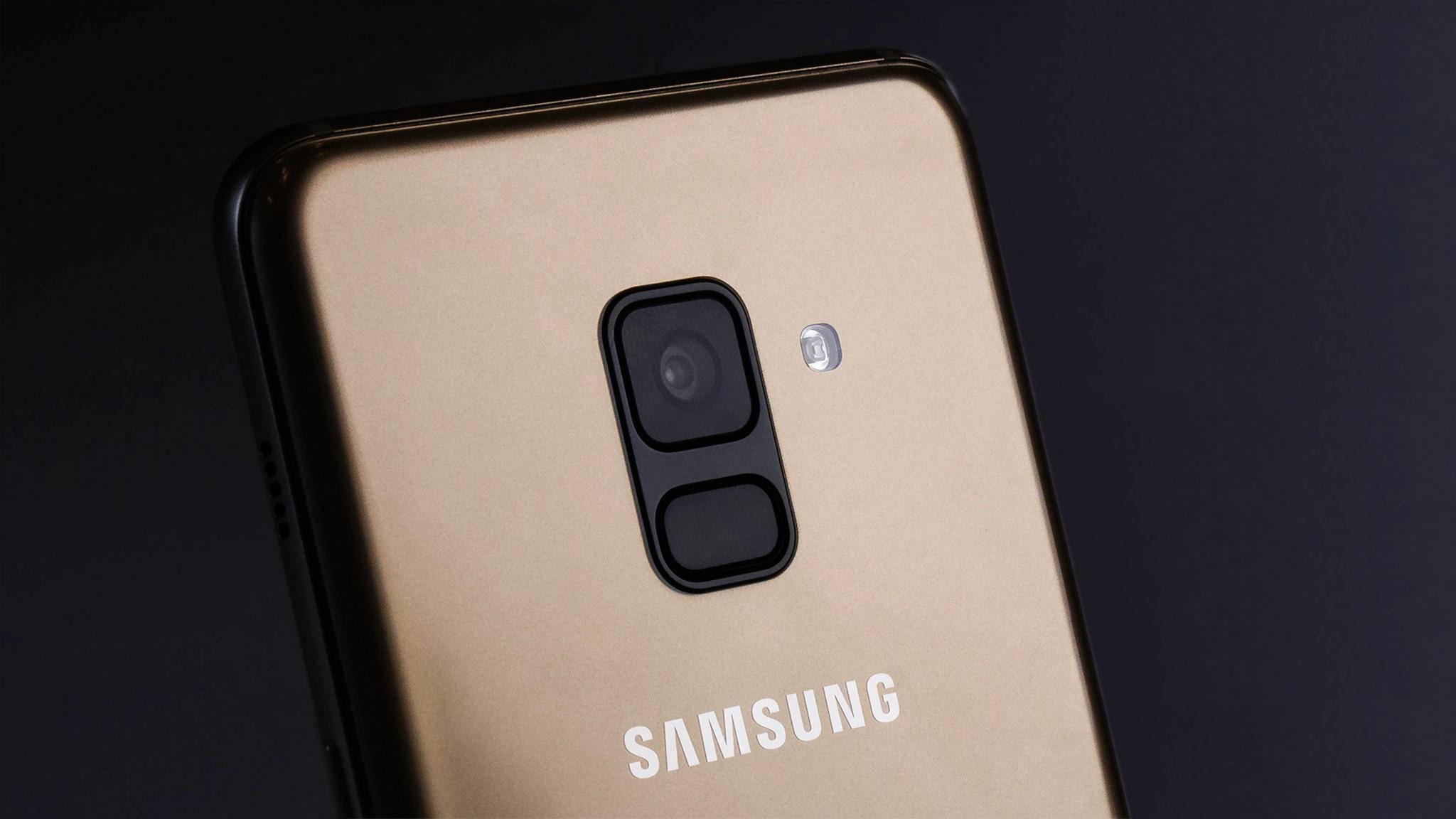 Die Hauptkamera ist vom Galaxy A6 Plus (2018) bekannt.