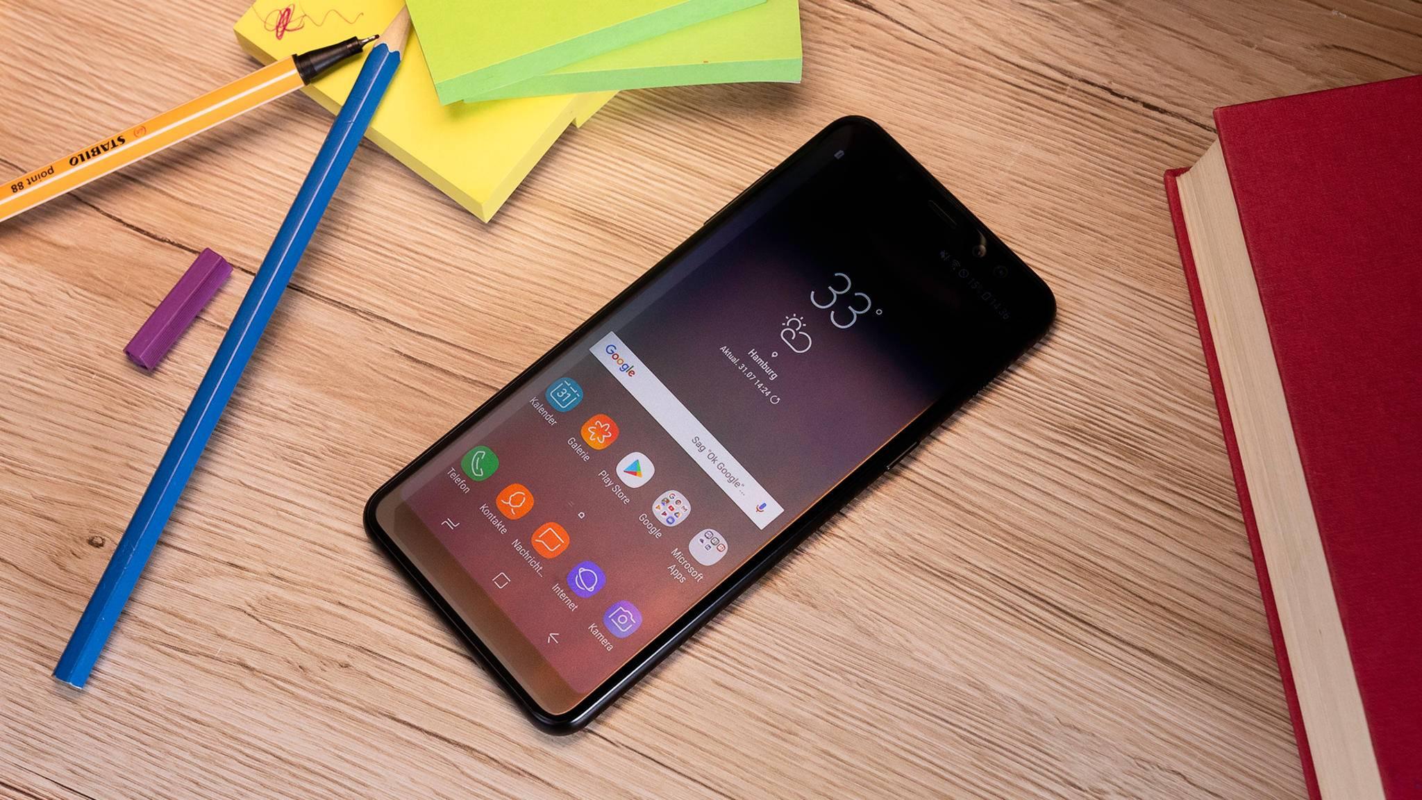 Wir haben uns die Features des Galaxy A8 (2018) einmal näher angesehen.