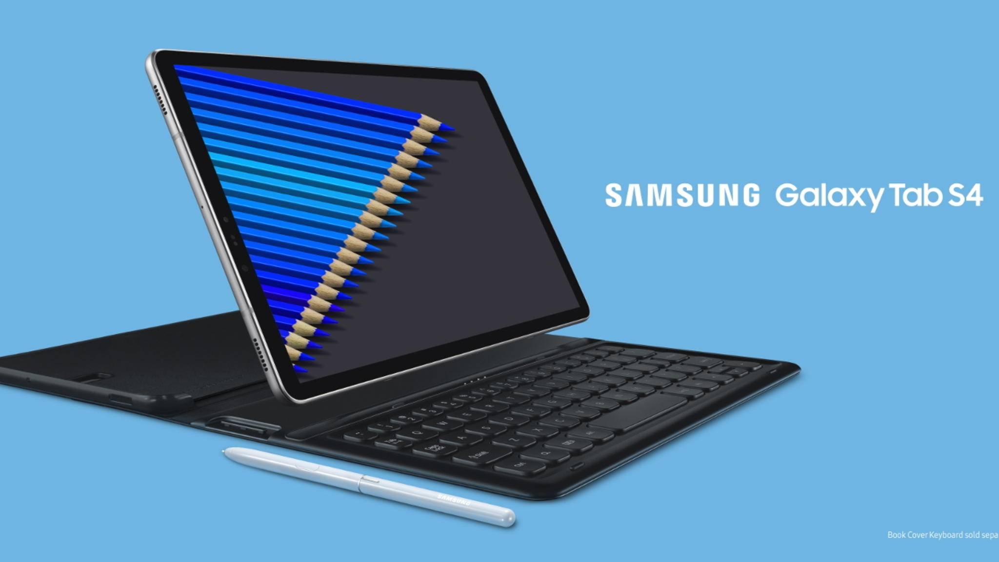 Das Galaxy Tab S4 ist Samsung neues High-End-Tablet und wurde in der vergangenen Woche vorgestellt.