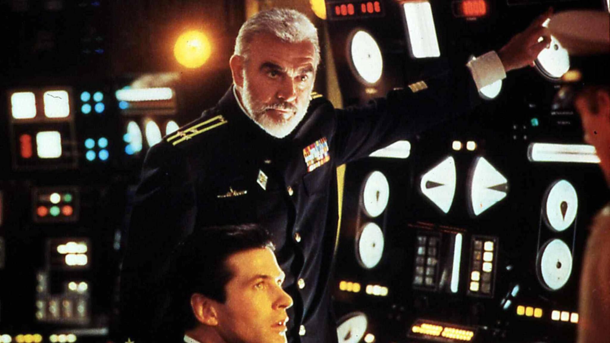 """In """"Jagd auf Roter Oktober"""" geht Seam Connery als Kapitän Marko Ramius auf Tauchstation."""