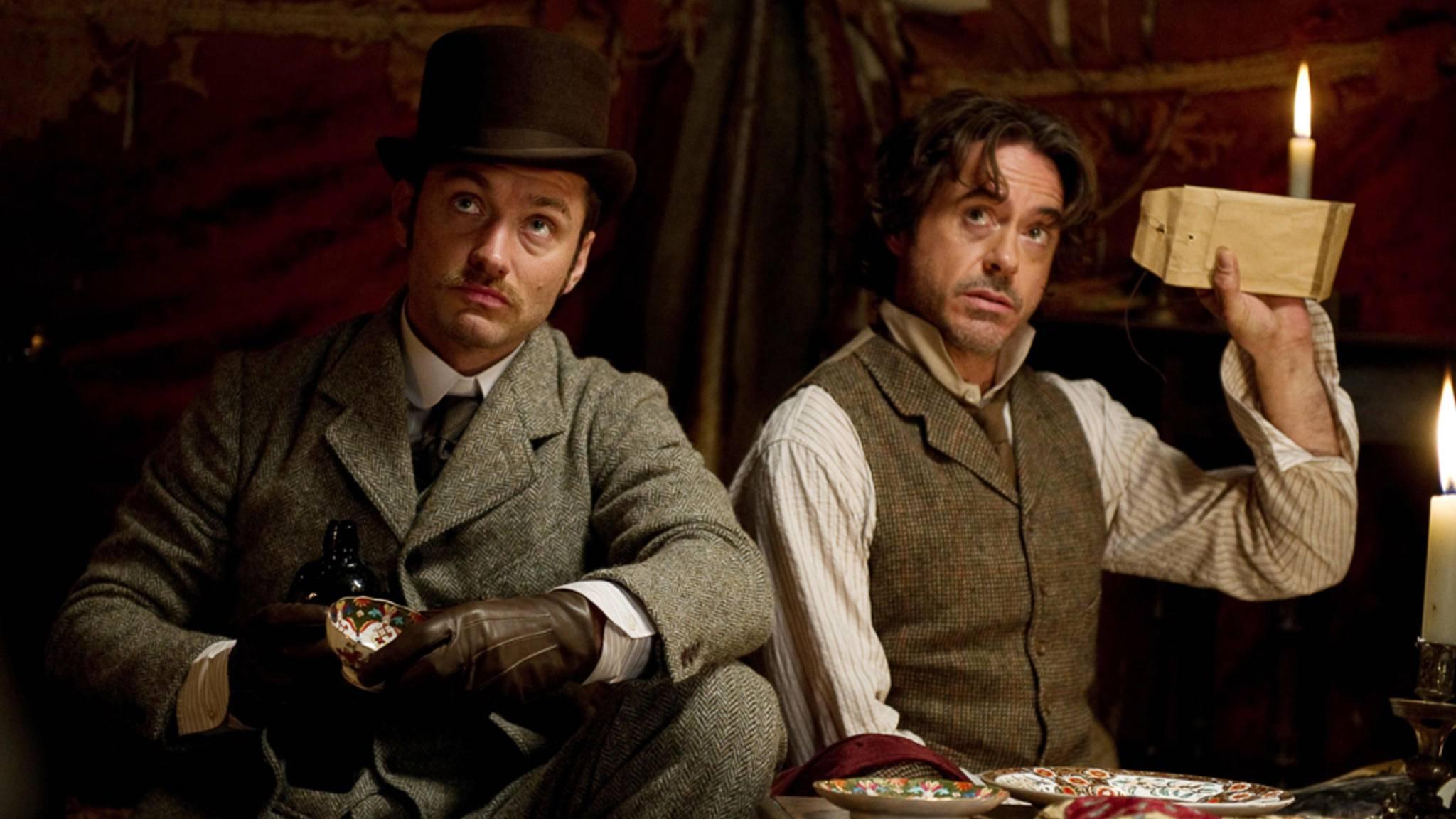 """Guy Ritchie hat mit Robert Downey Jr. eine Neuinterpretation von """"Sherlock Holmes"""" gewagt – mit Erfolg!"""