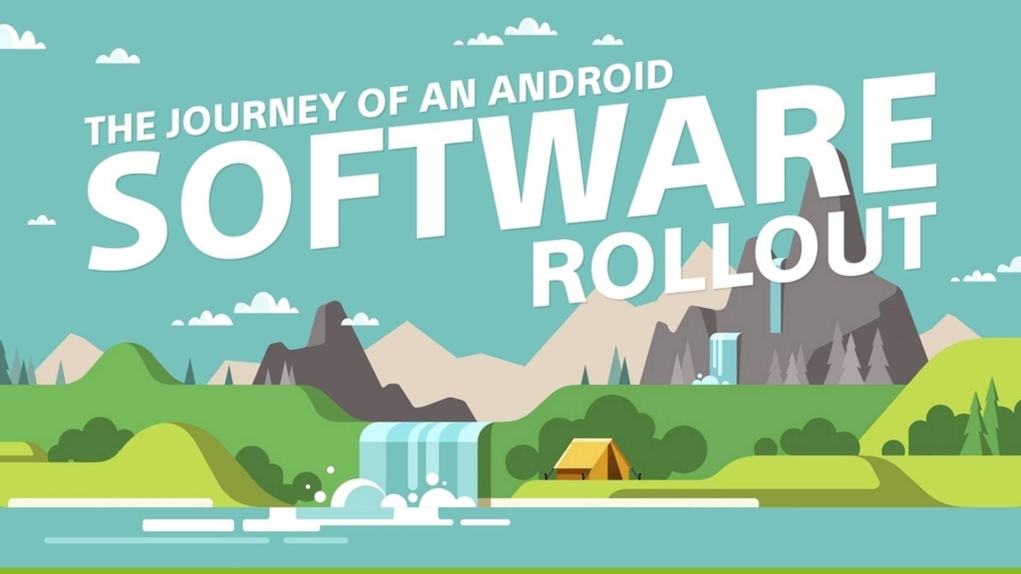 Sony zeichnet den Weg einer neuen Android-Version nach.