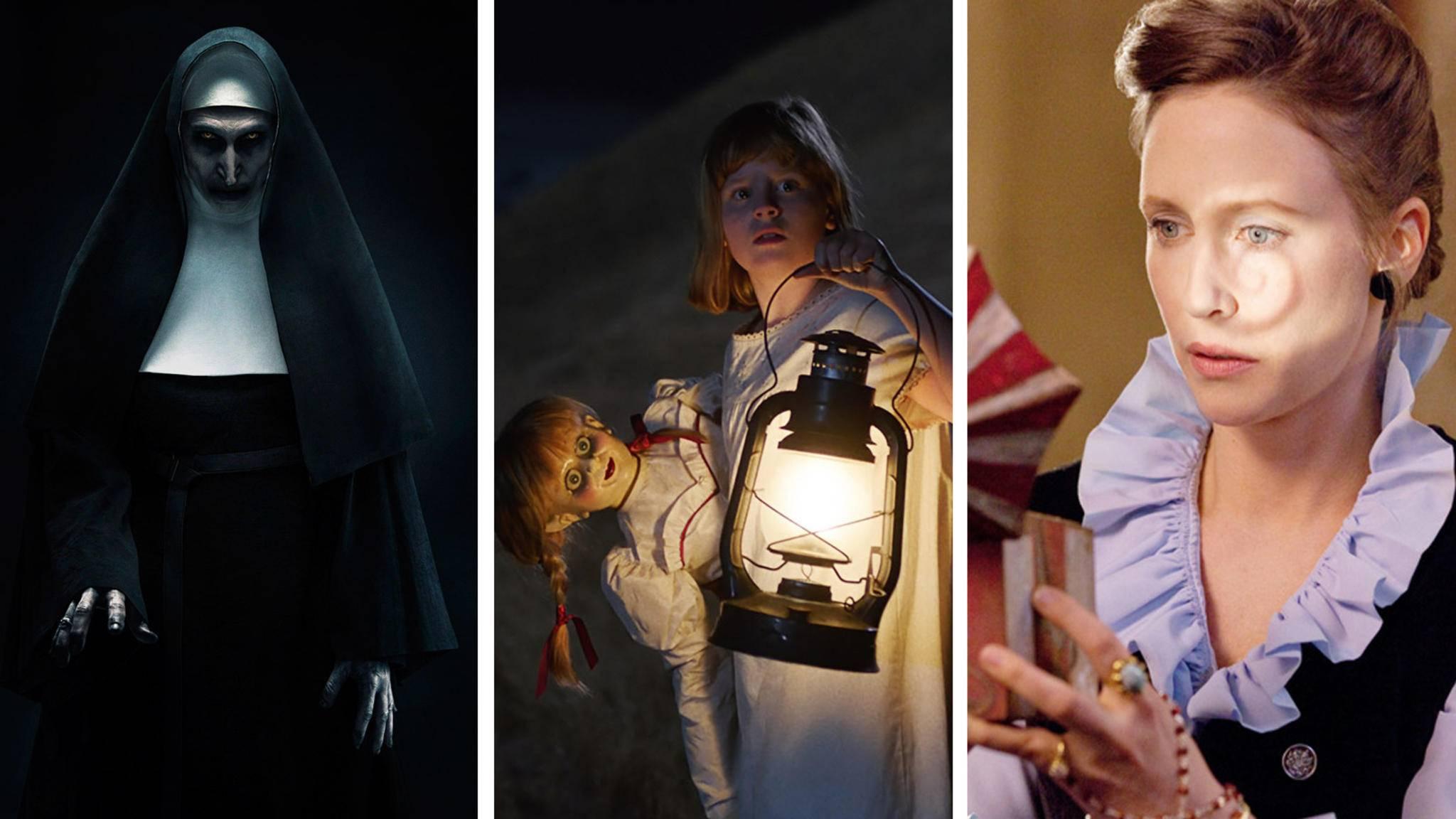 """In welcher Reihenfolge solltest Du die Filme des """"Conjuring""""-Universums ansehen? Wir sagen es Dir."""