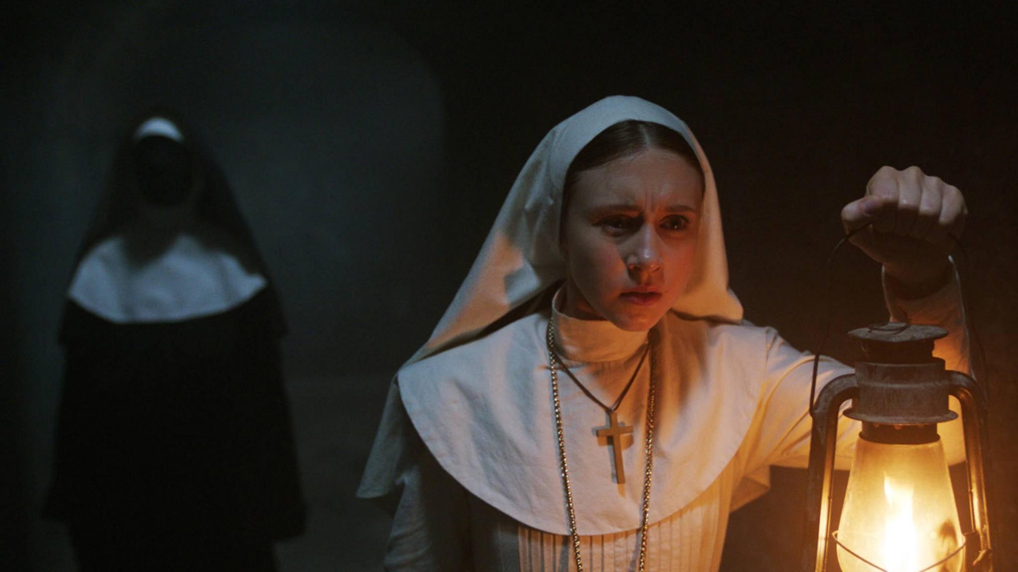 """""""The Nun 2"""" ist bereits in Lauerstellung ..."""