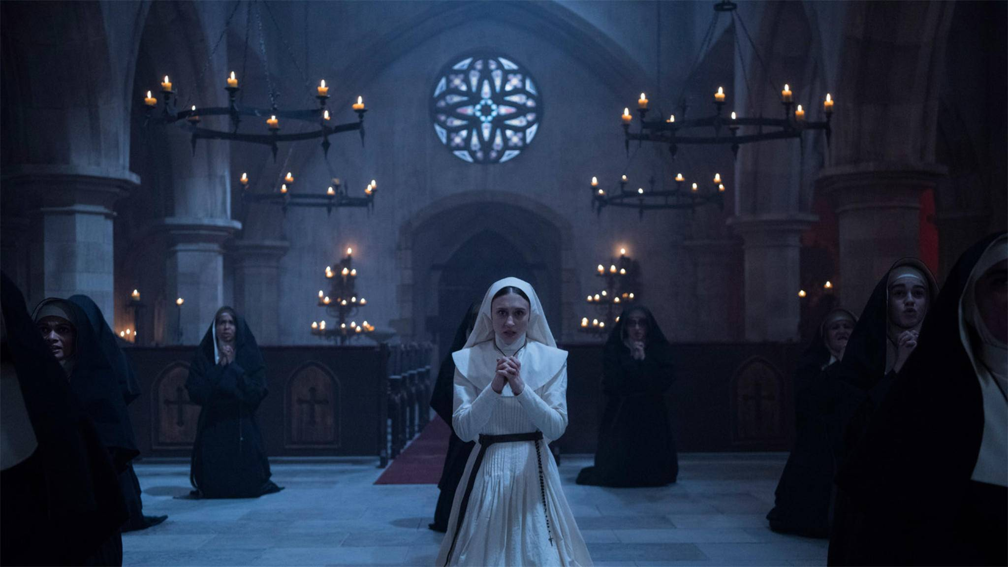"""Amen, Schwester! """"The Nun"""" hat einen rekordverdächtigen Kinostart hingelegt."""