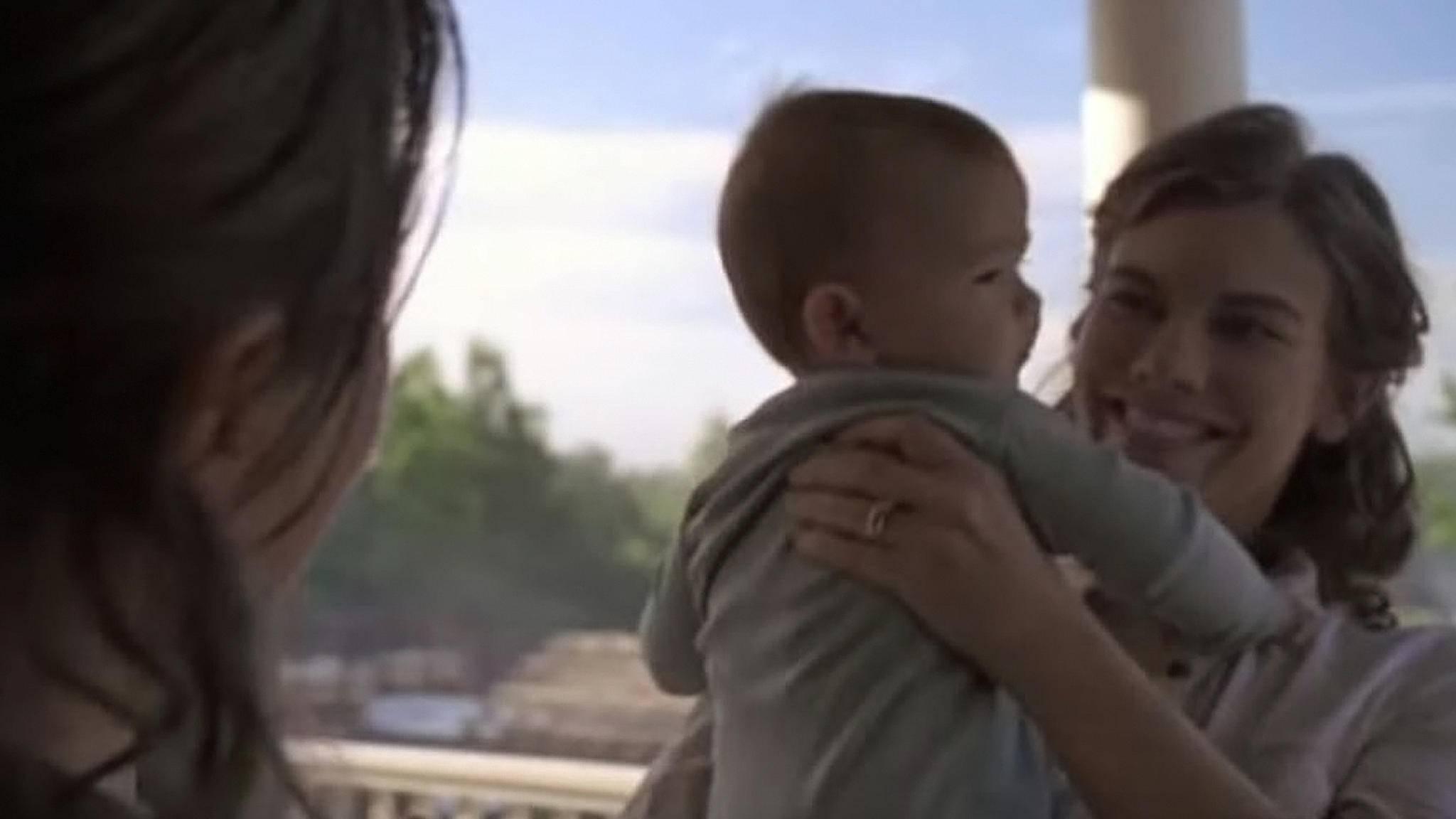 """Endlich wissen wir, wie Maggies Baby in Staffel 9 von """"The Walking Dead"""" heißen wird."""