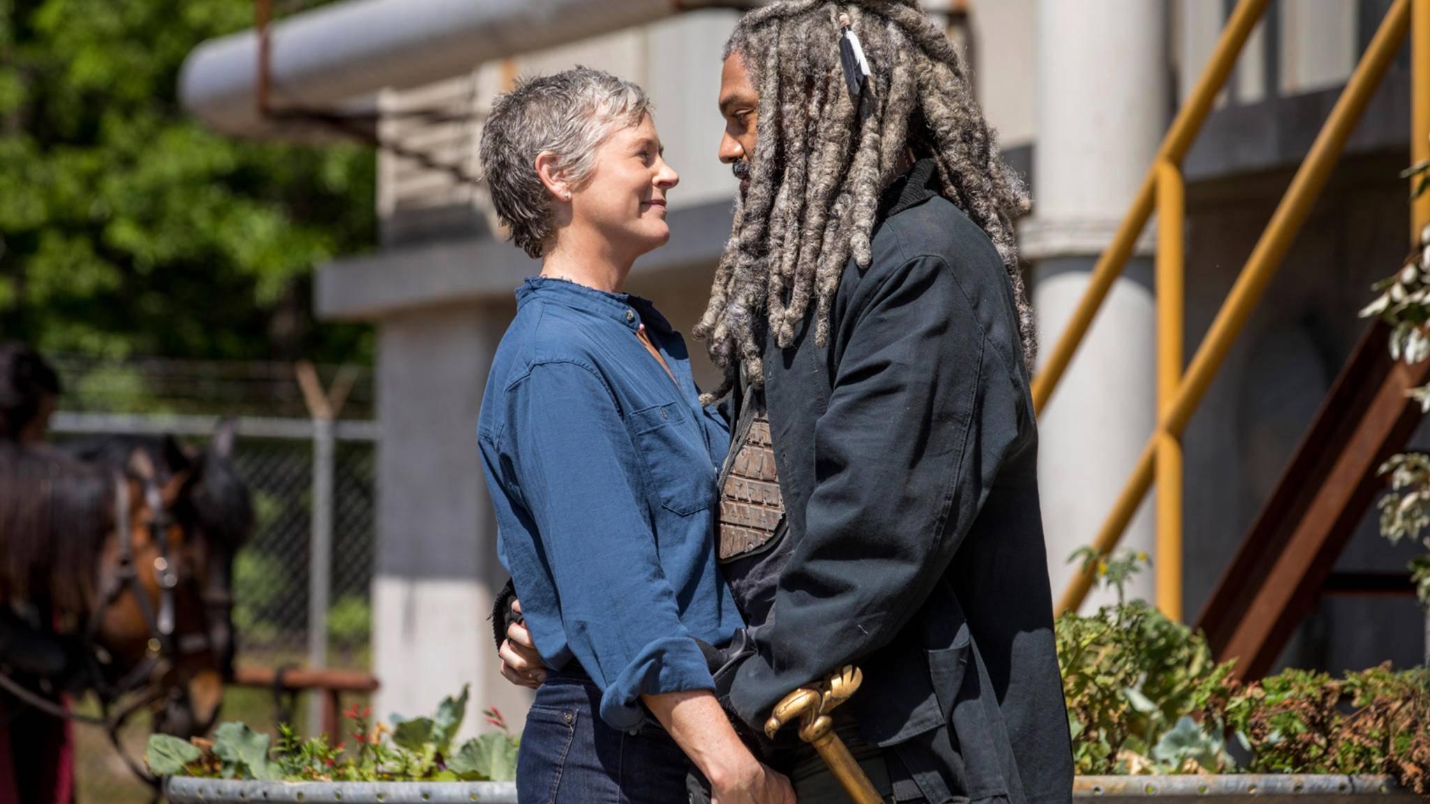 YES!!! Carol und Ezekiel sind ganz offensichtlich ein Paar.