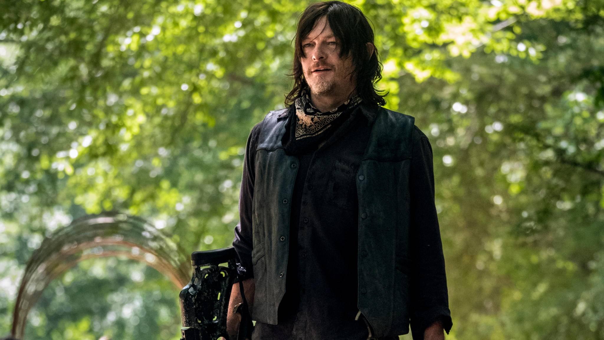 """Darf sich Daryl in Staffel 9 von """"The Walking Dead"""" bald über neue Freunde freuen?"""