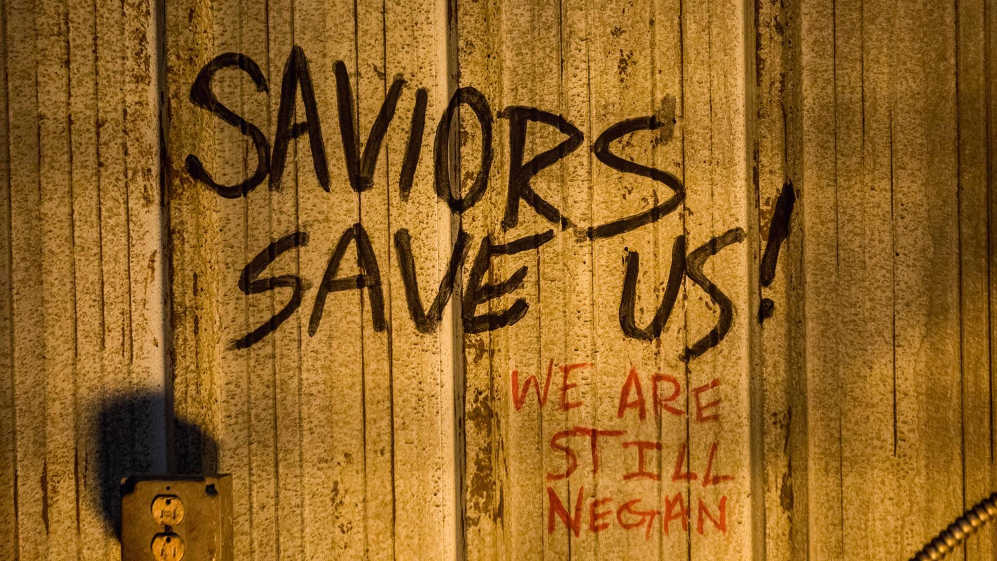 Ob sie wohl dieses Graffiti entdeckt haben?